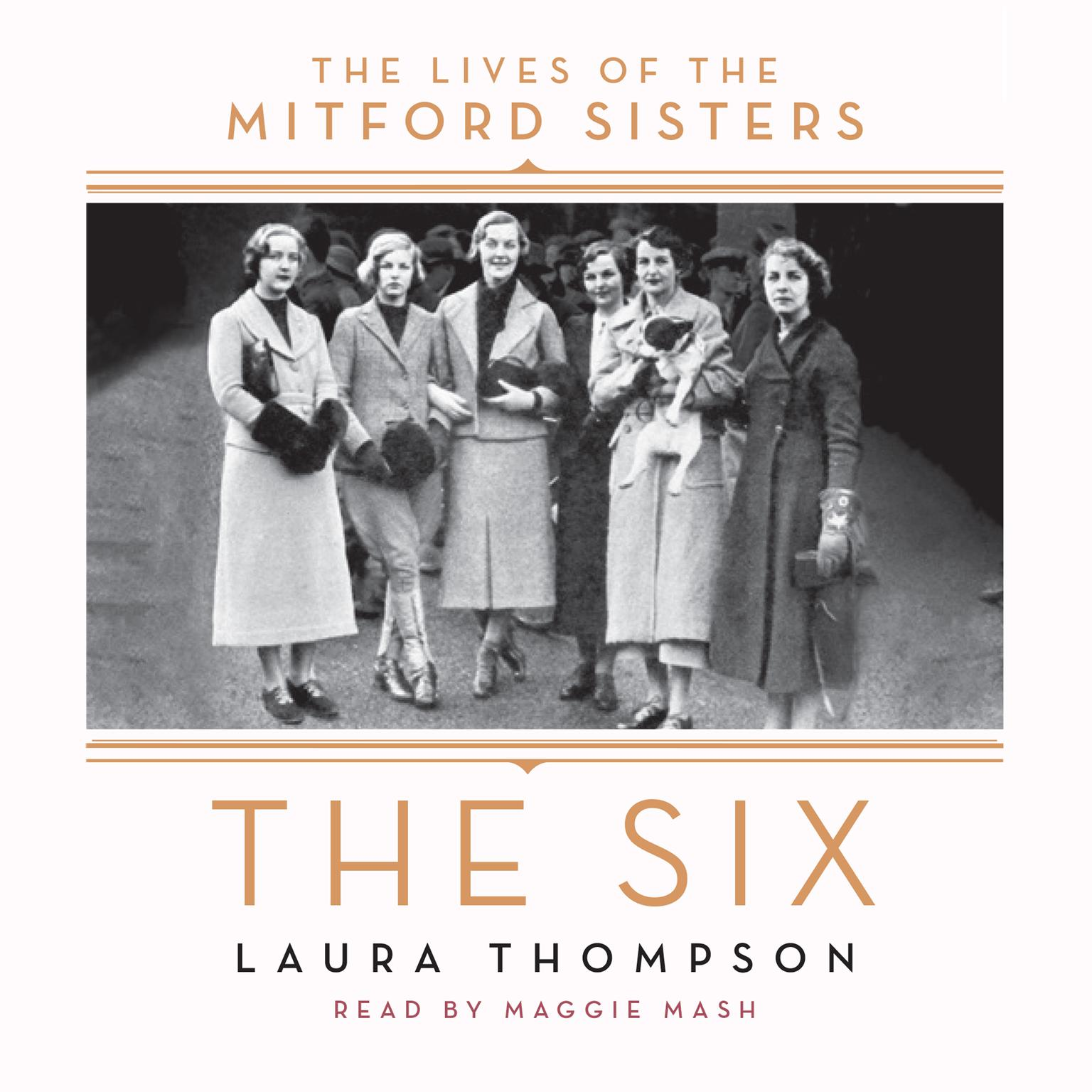 Printable The Six: The Lives of the Mitford Sisters Audiobook Cover Art