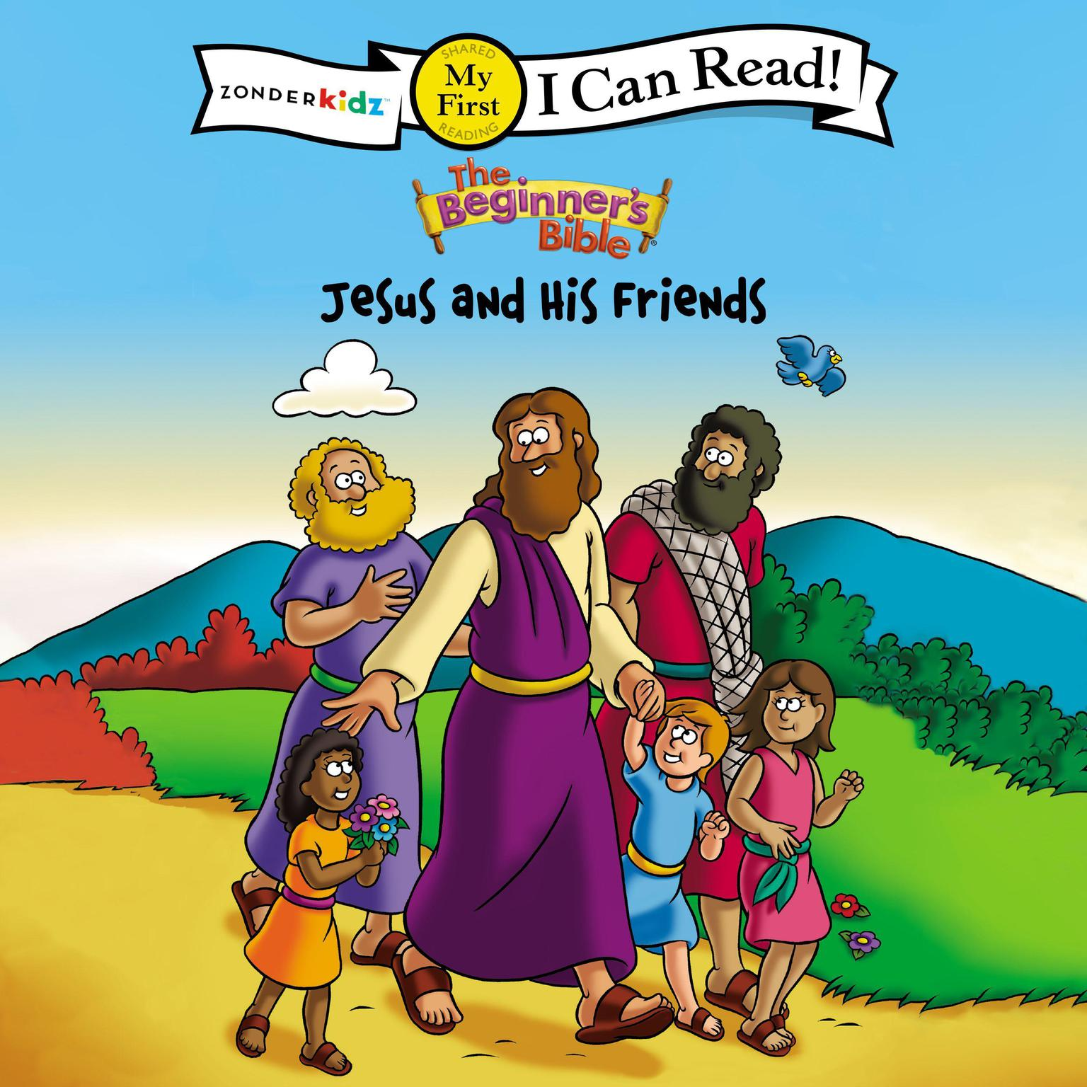 Printable The Beginner's Bible Jesus and His Friends: I Can Read Audiobook Cover Art