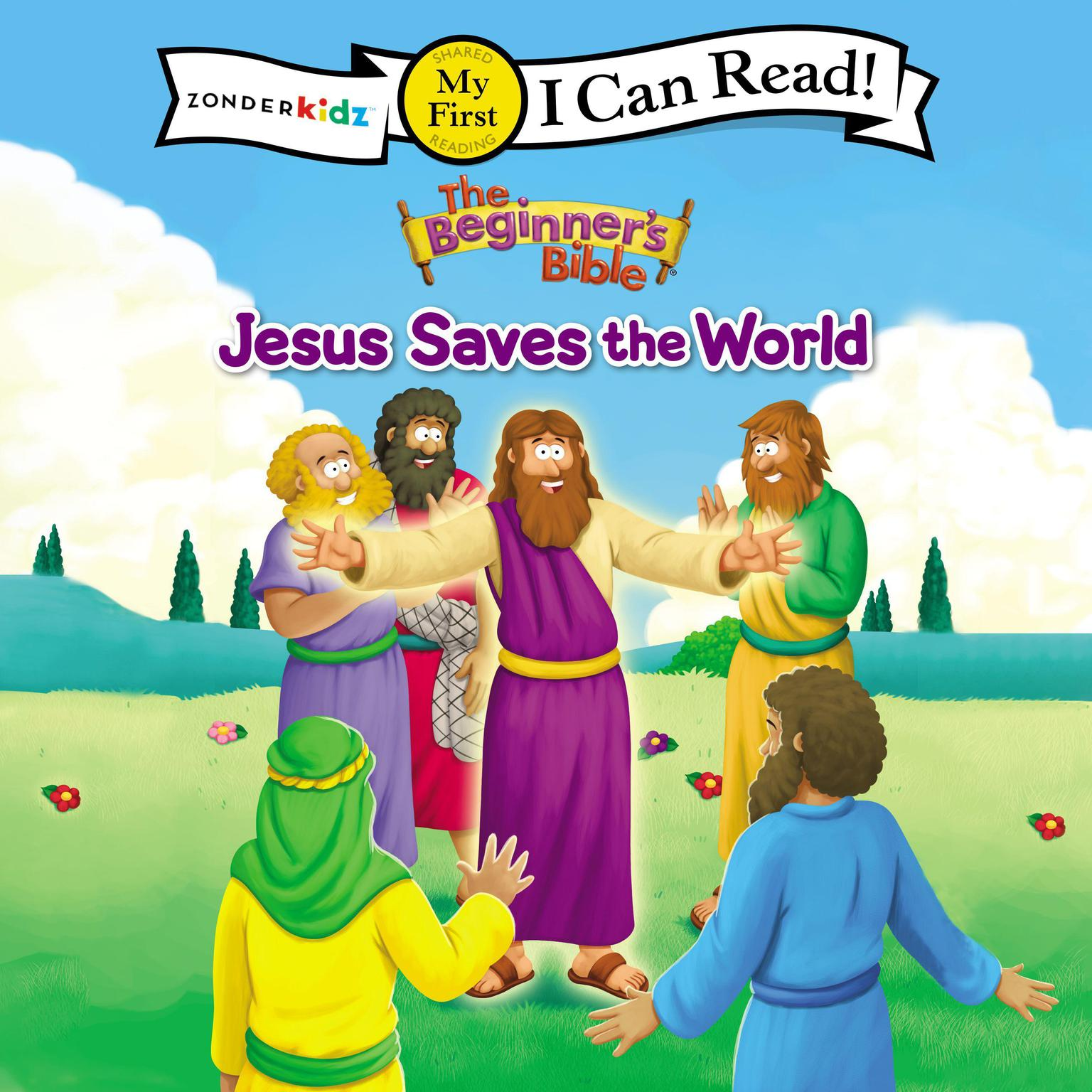 Printable The Beginner's Bible Jesus Saves the World: I Can Read Audiobook Cover Art