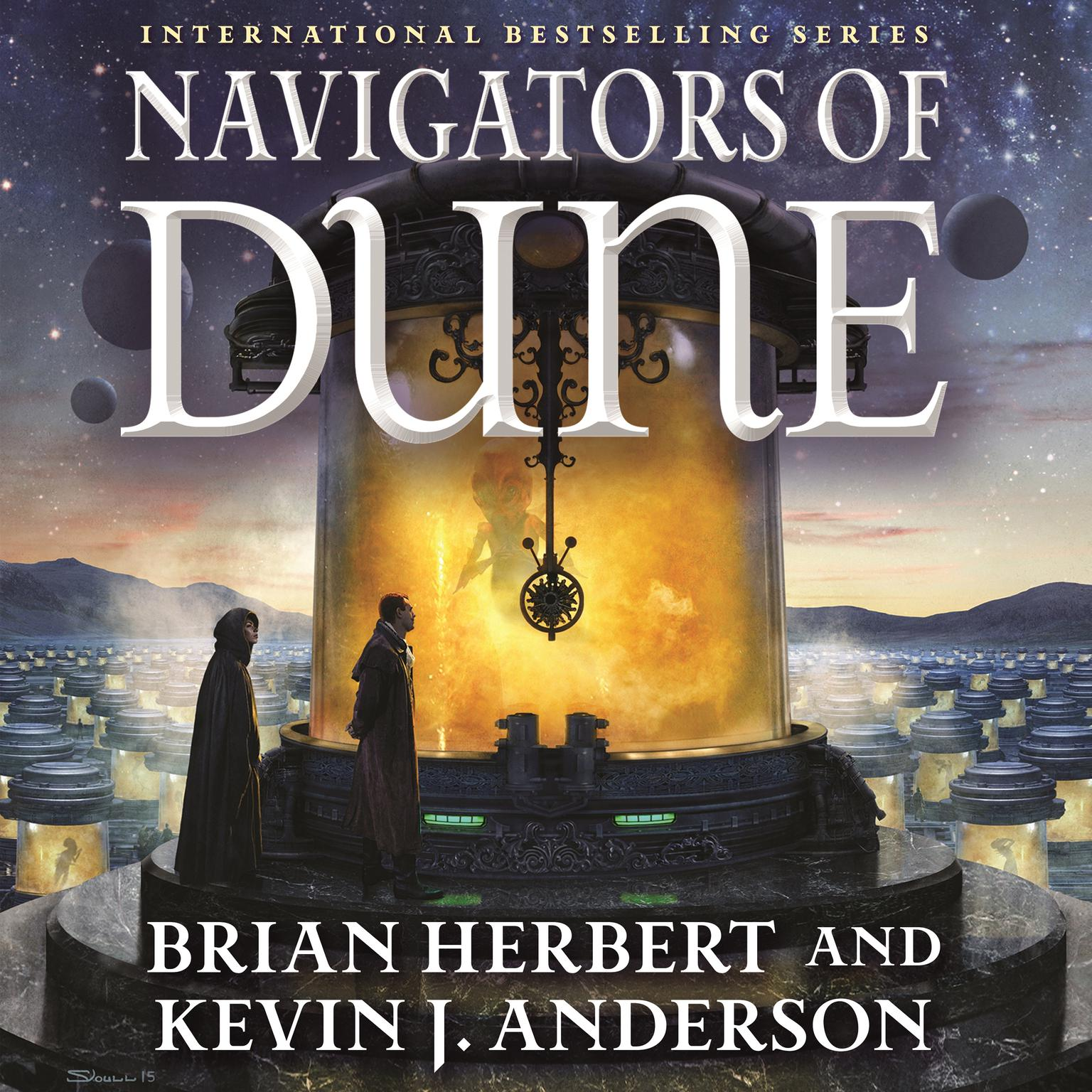 Printable Navigators of Dune: Book Three of the Schools of Dune Trilogy Audiobook Cover Art