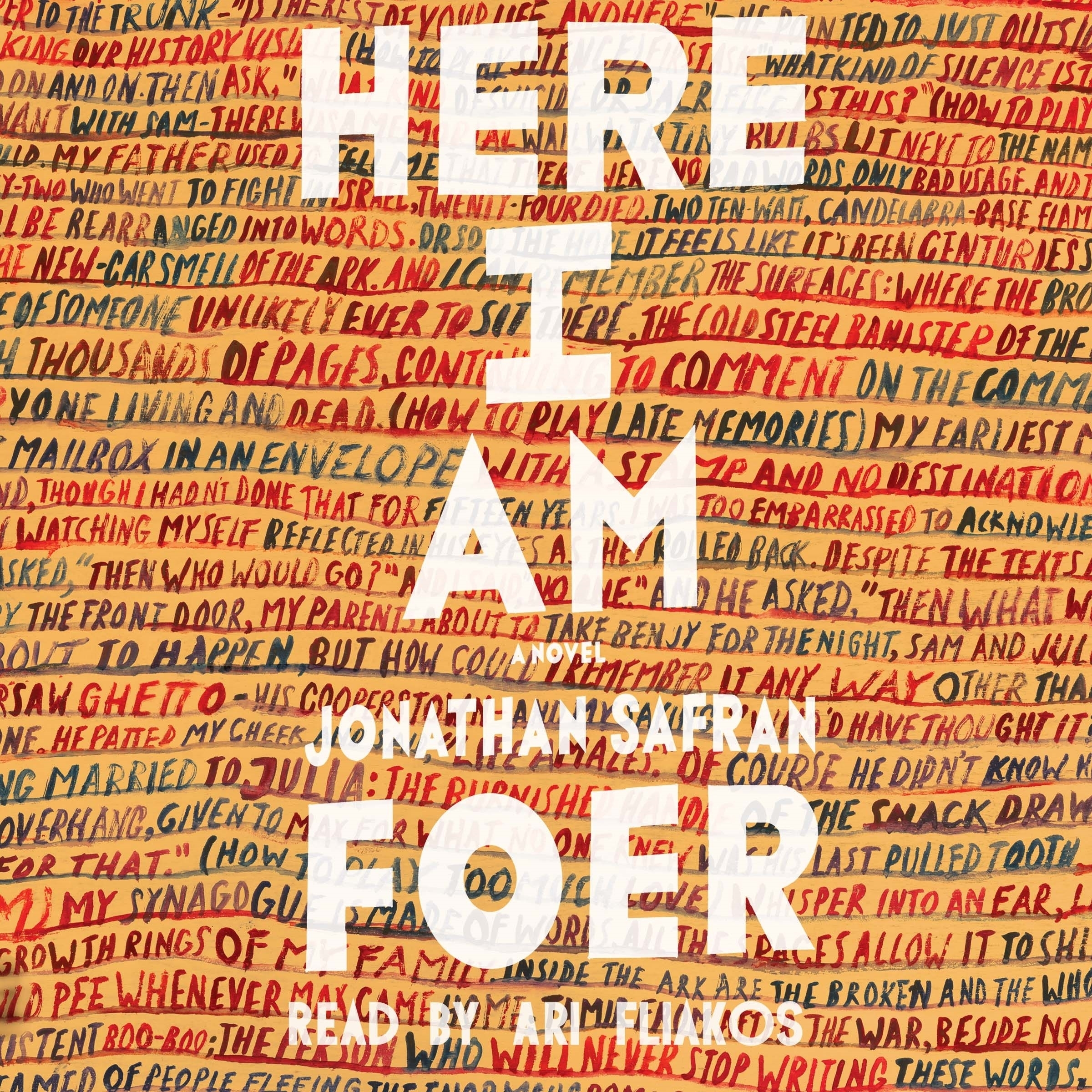 Printable Here I Am: A Novel Audiobook Cover Art