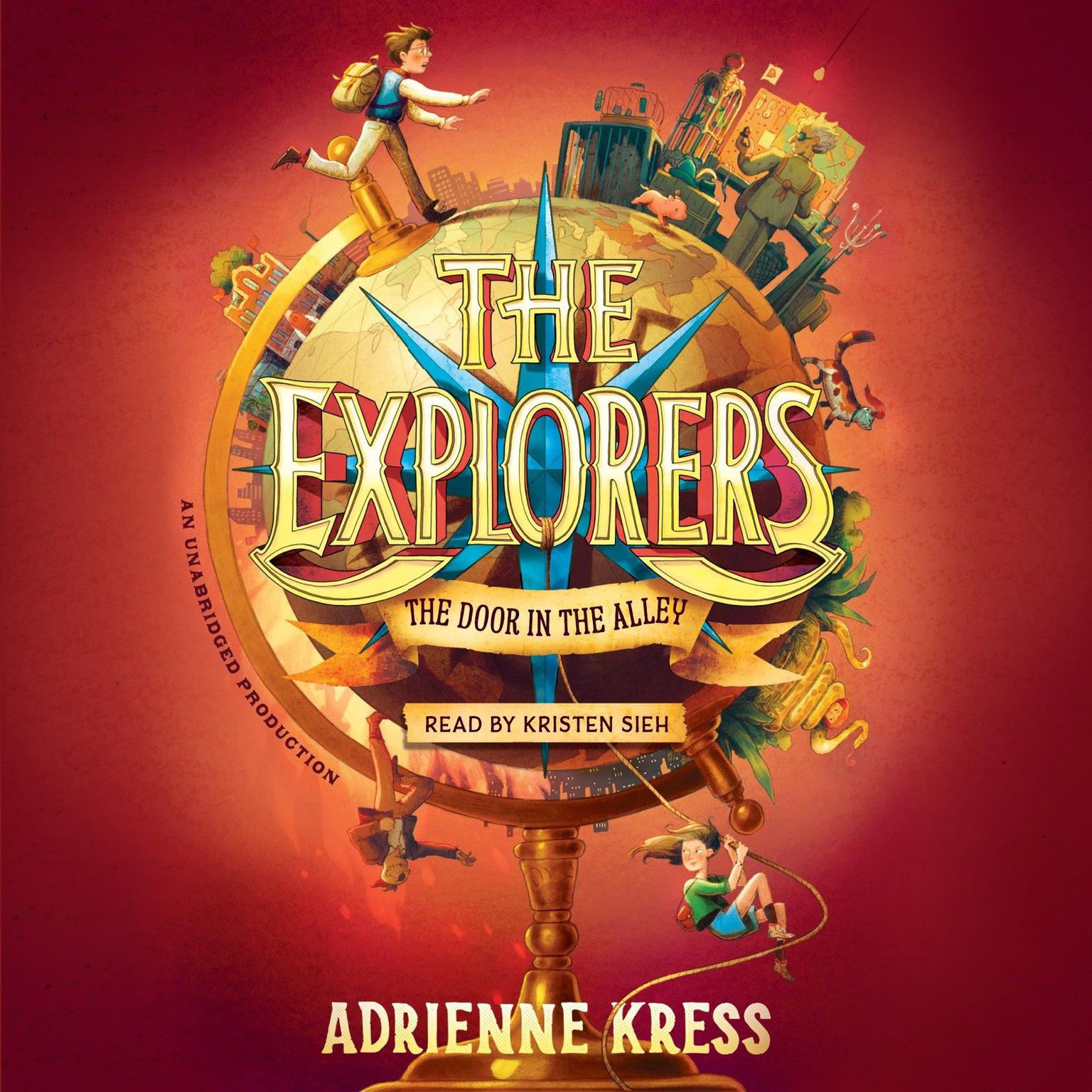 Printable The Explorers: The Door in the Alley Audiobook Cover Art