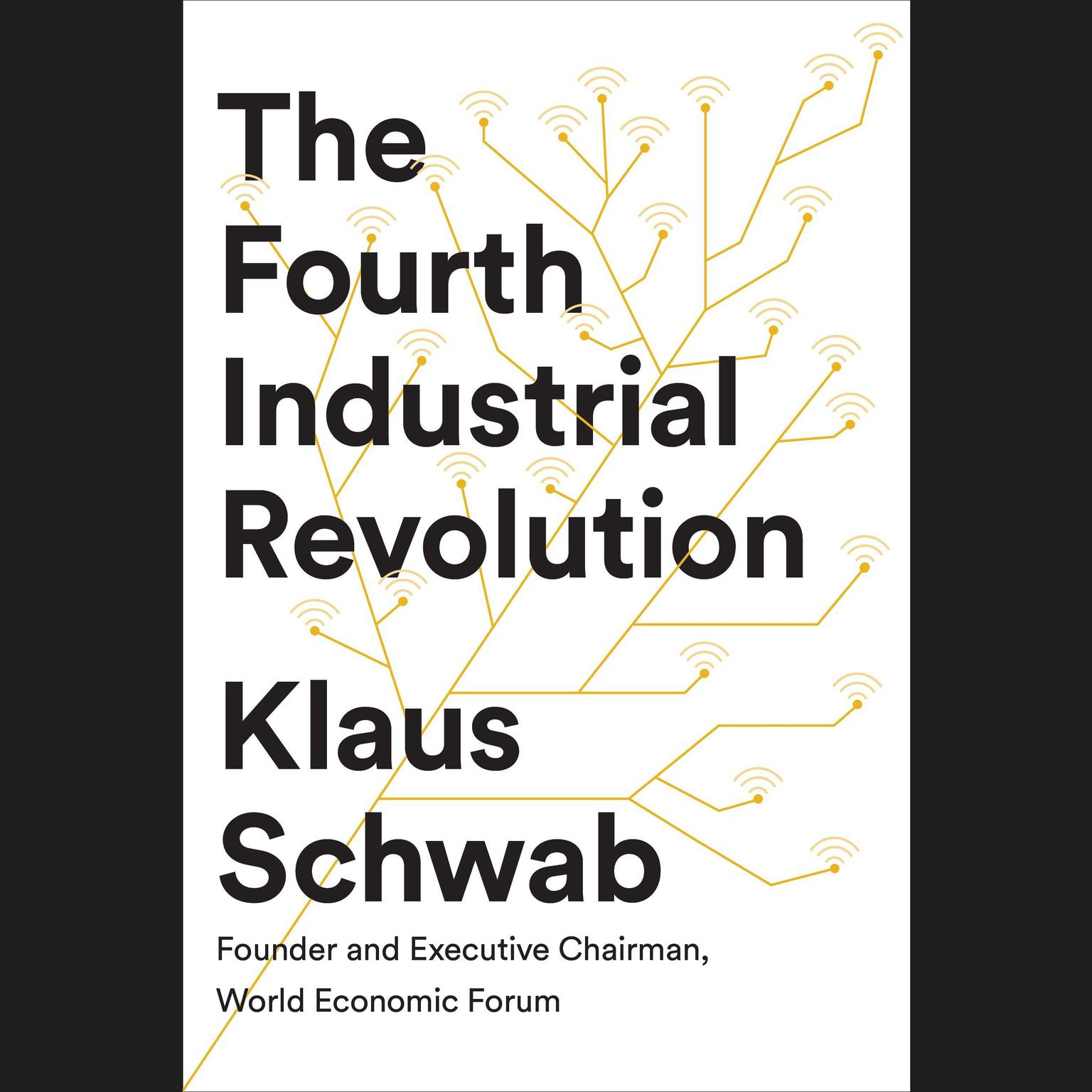 Printable The Fourth Industrial Revolution Audiobook Cover Art