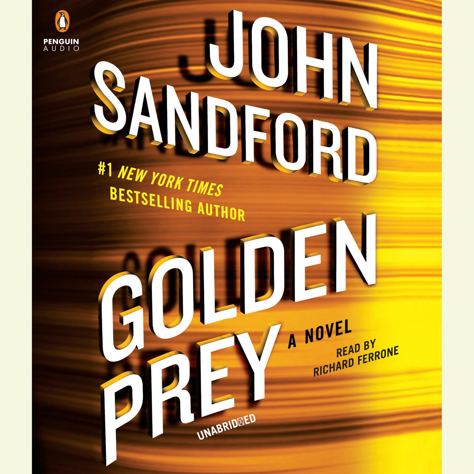 Printable Golden Prey Audiobook Cover Art