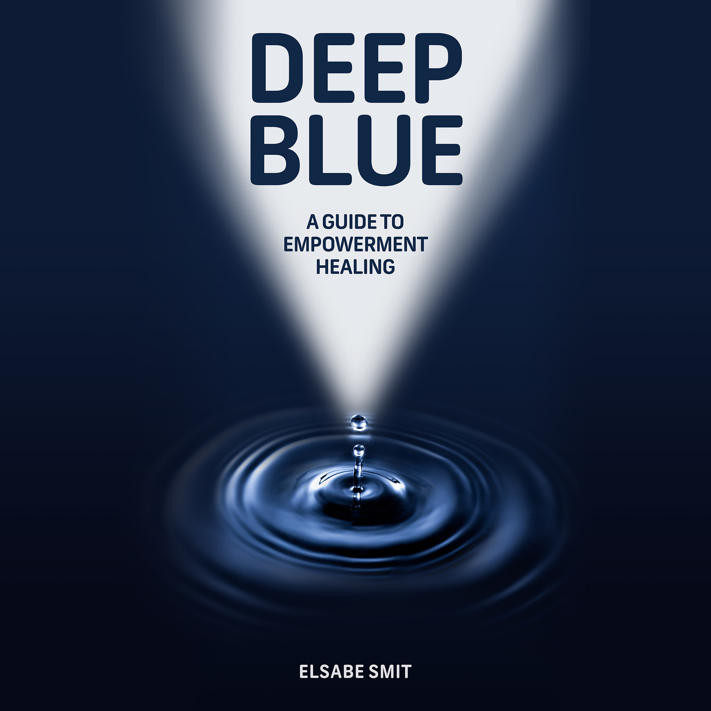 Printable Deep Blue: A Guide to Empowerment Healing Audiobook Cover Art