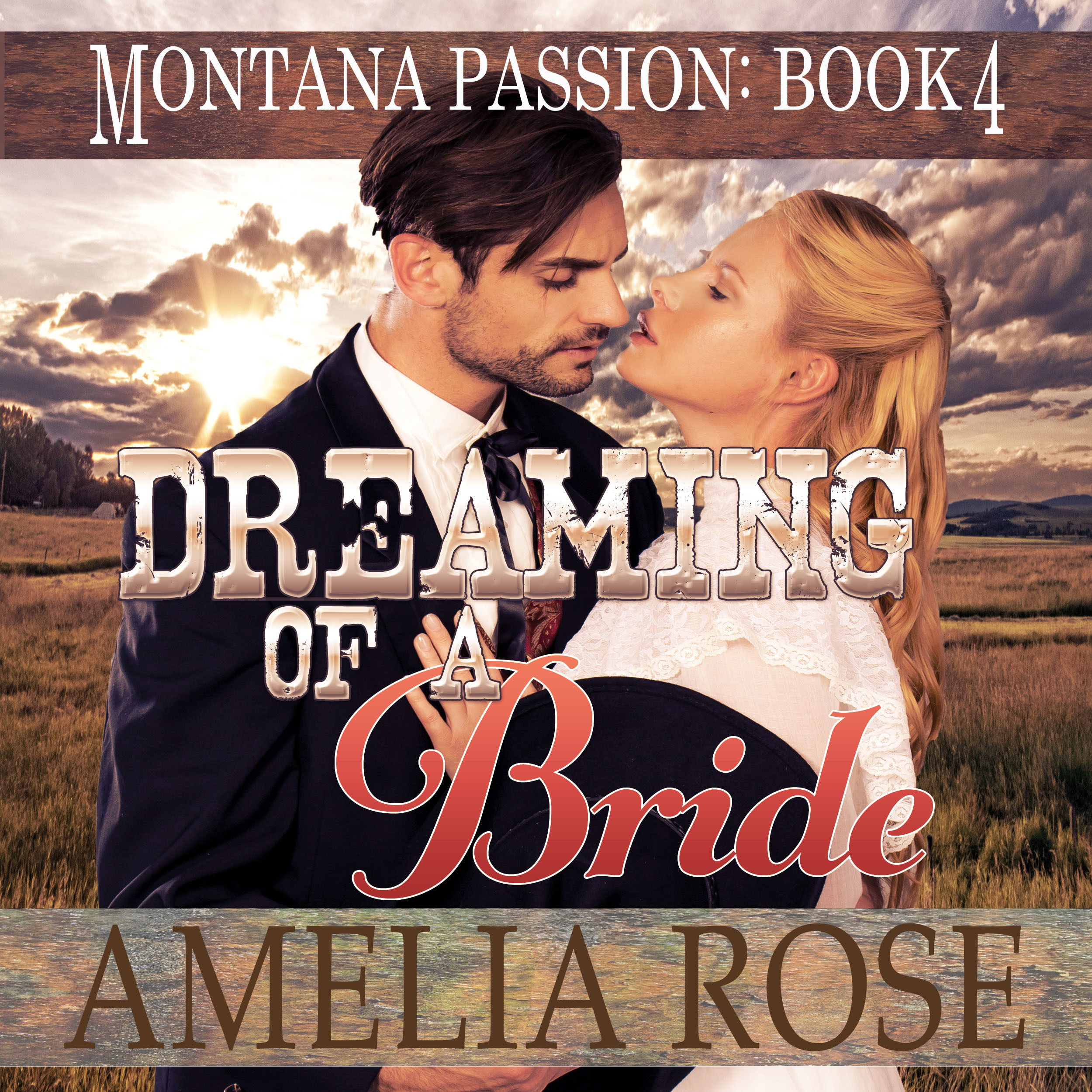 Printable Dreaming of a Bride Audiobook Cover Art