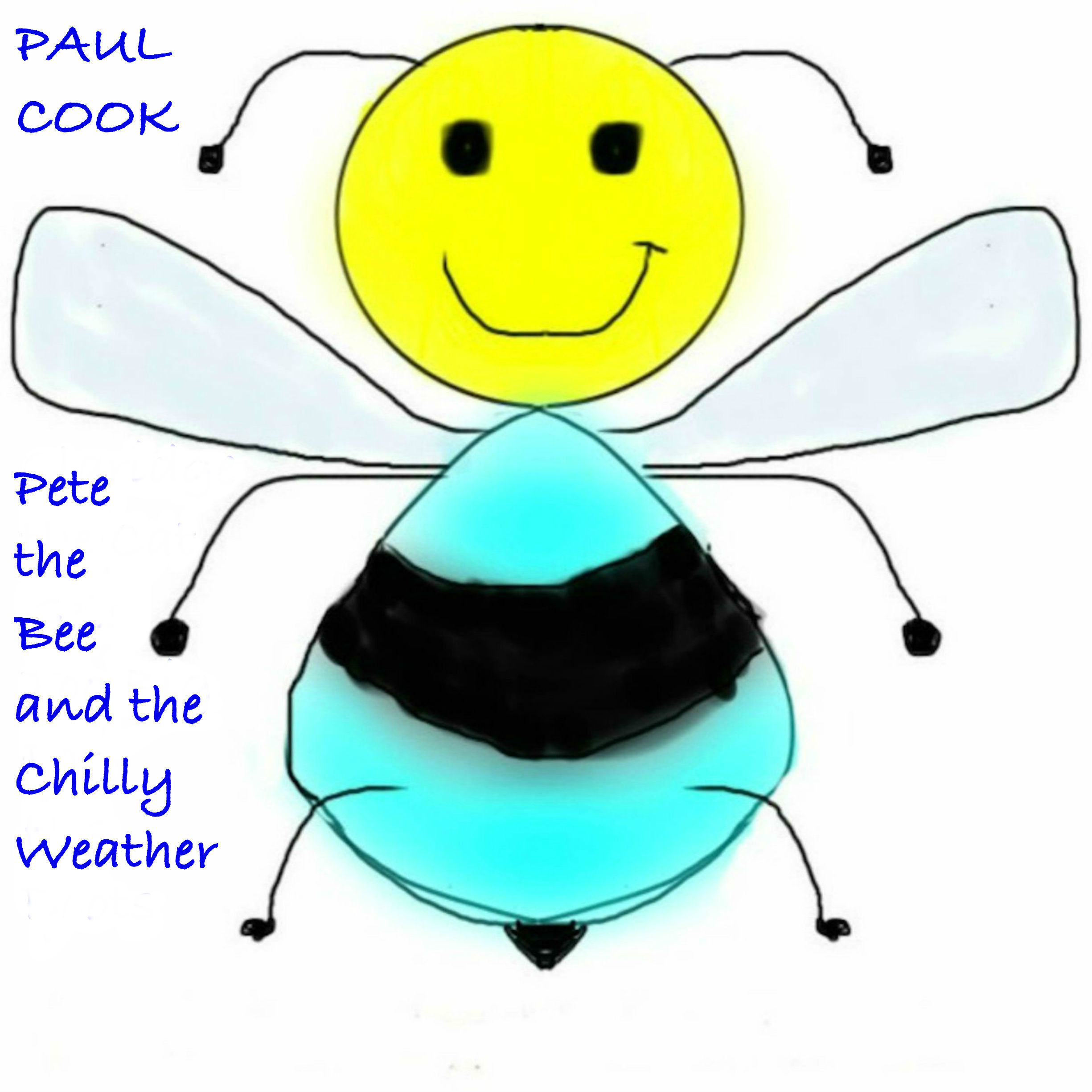 Printable Pete the Bee and the Chilly Weather Audiobook Cover Art