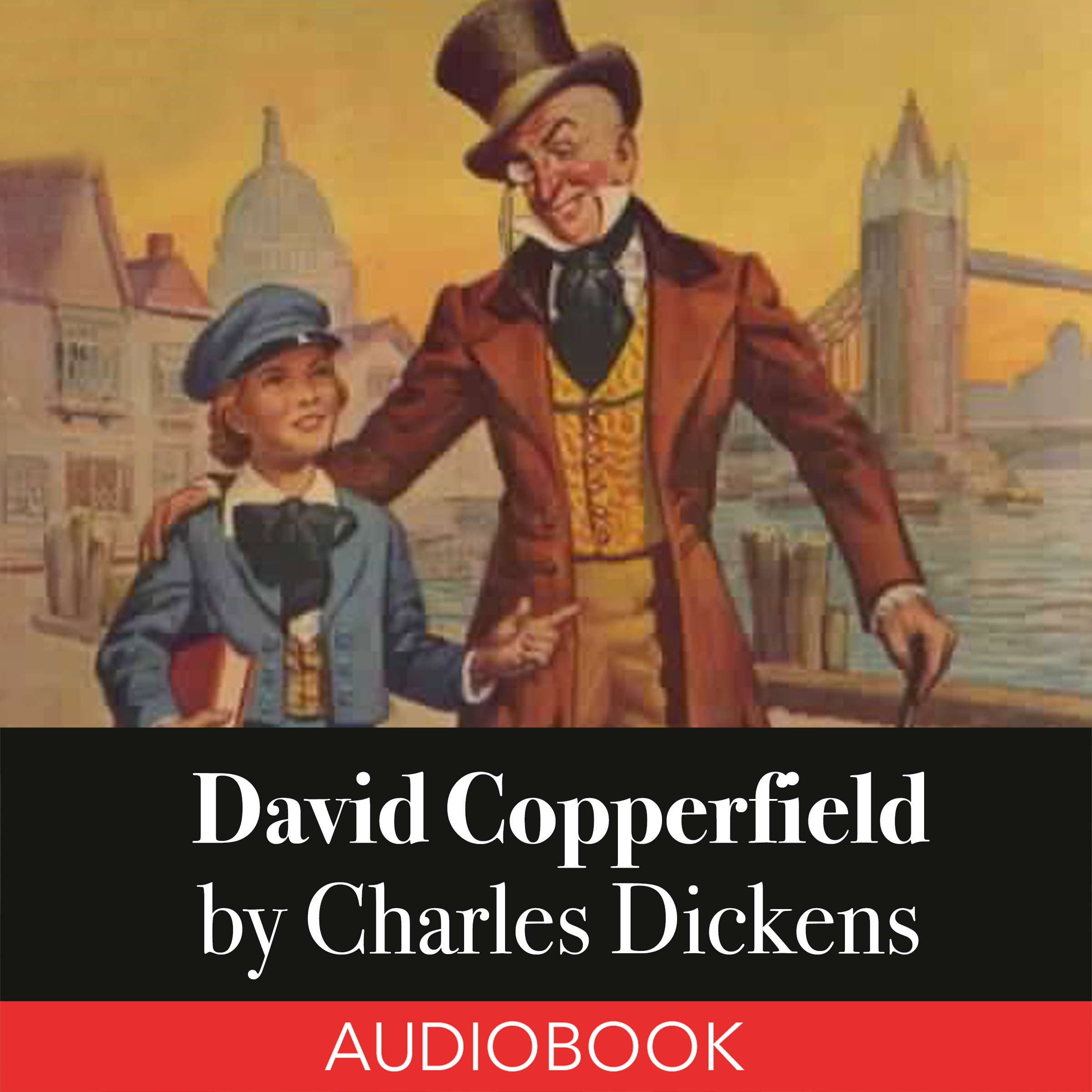 Printable David Copperfield Audiobook Cover Art