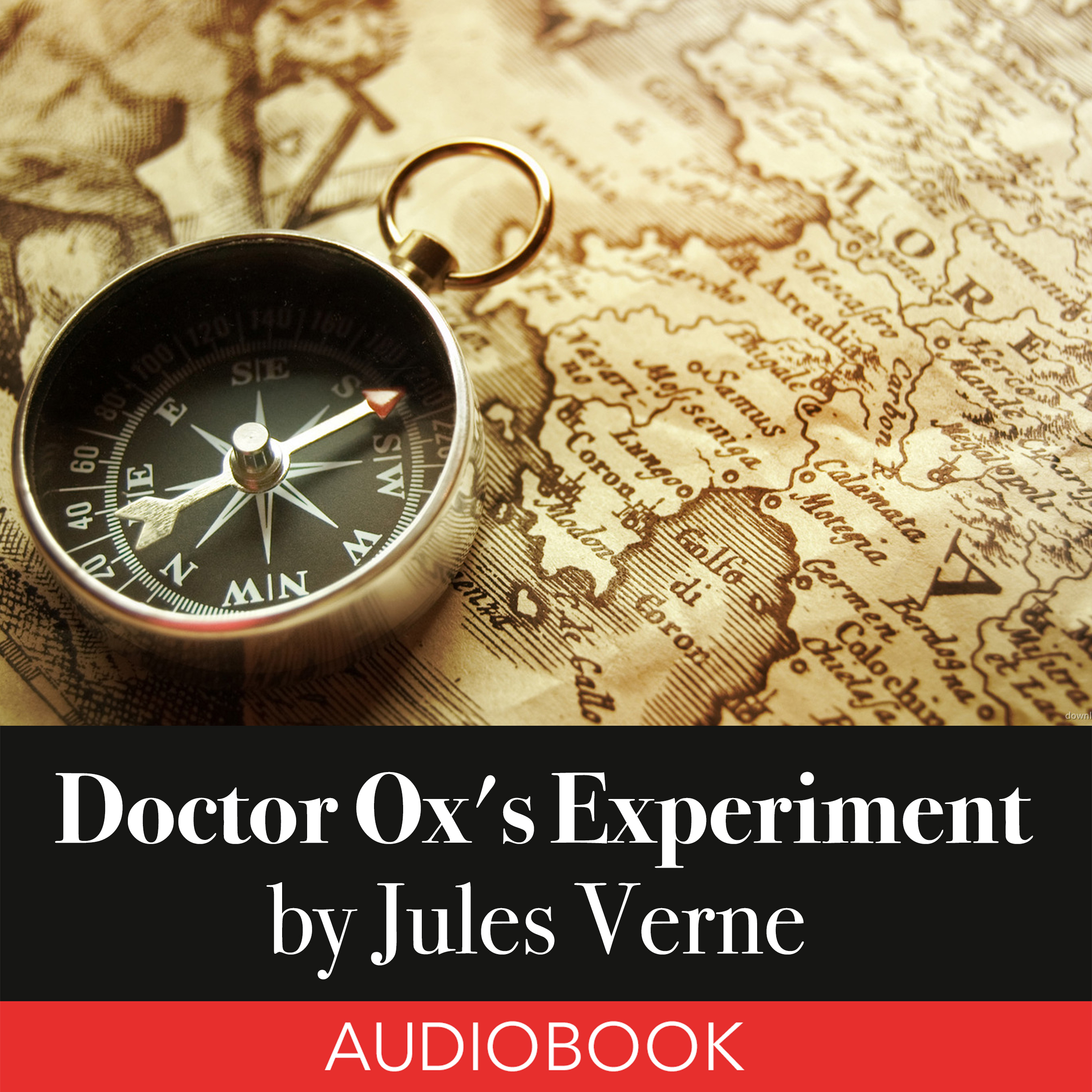 Printable Doctor Ox's Experiment Audiobook Cover Art