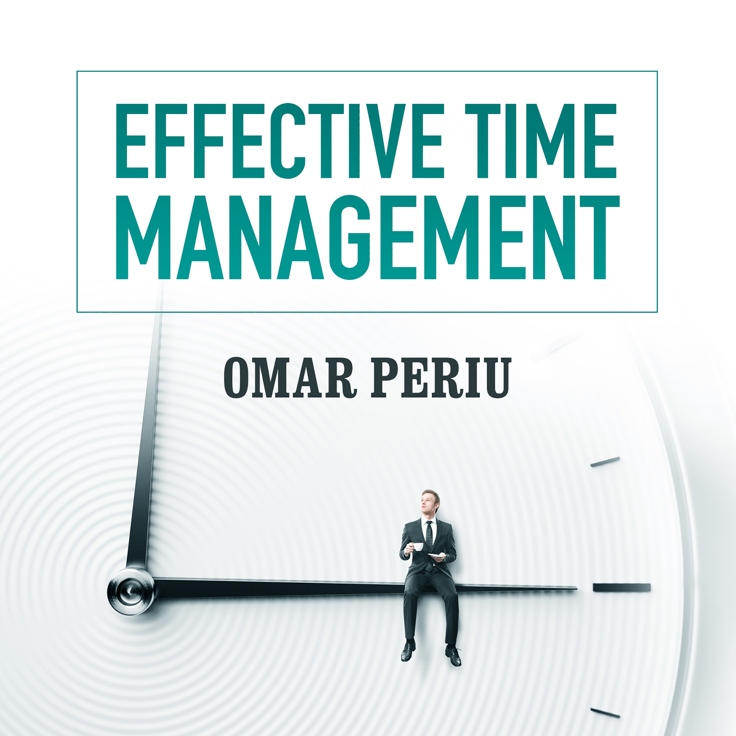 Printable Effective Time Management Audiobook Cover Art