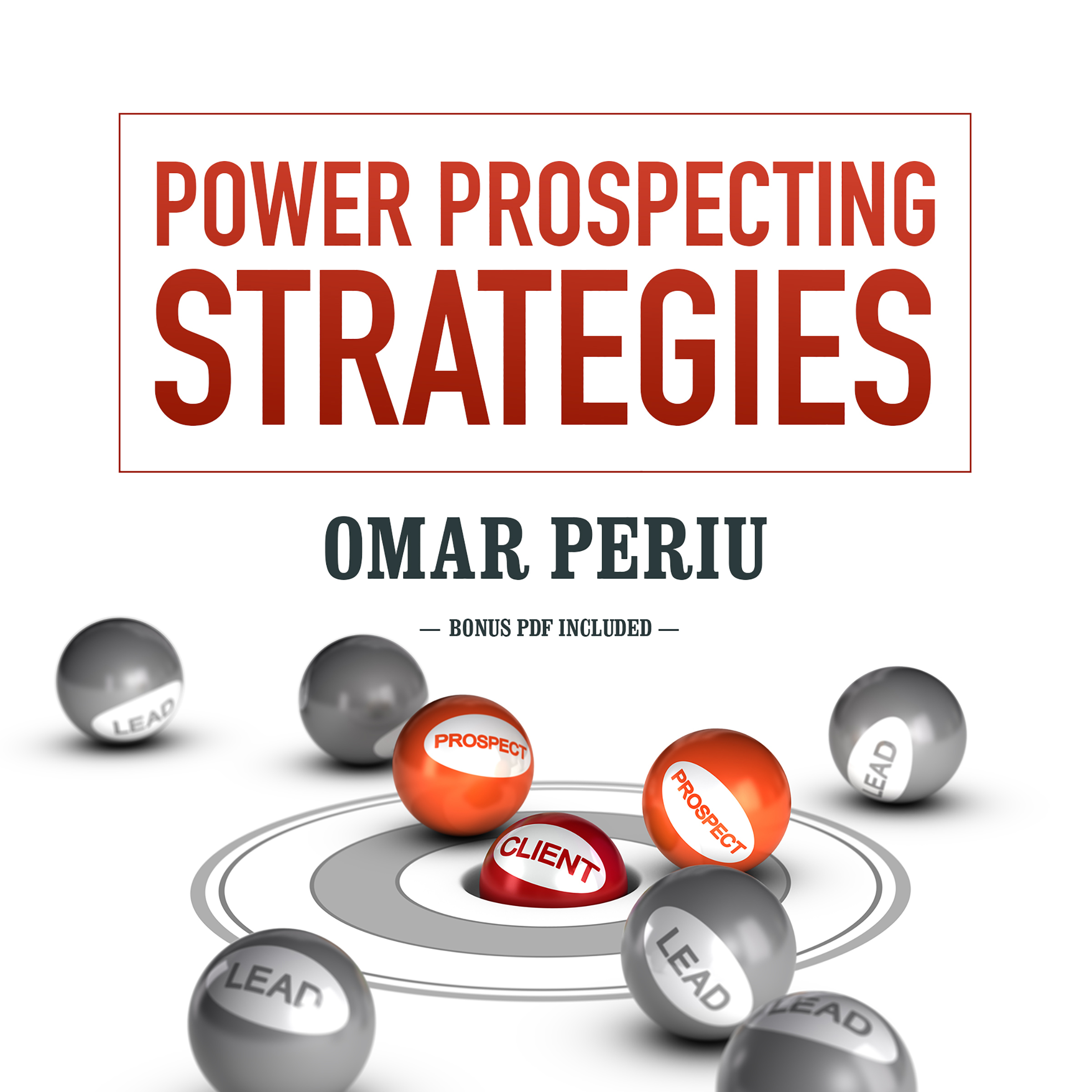 Printable Power Prospecting Strategies Audiobook Cover Art