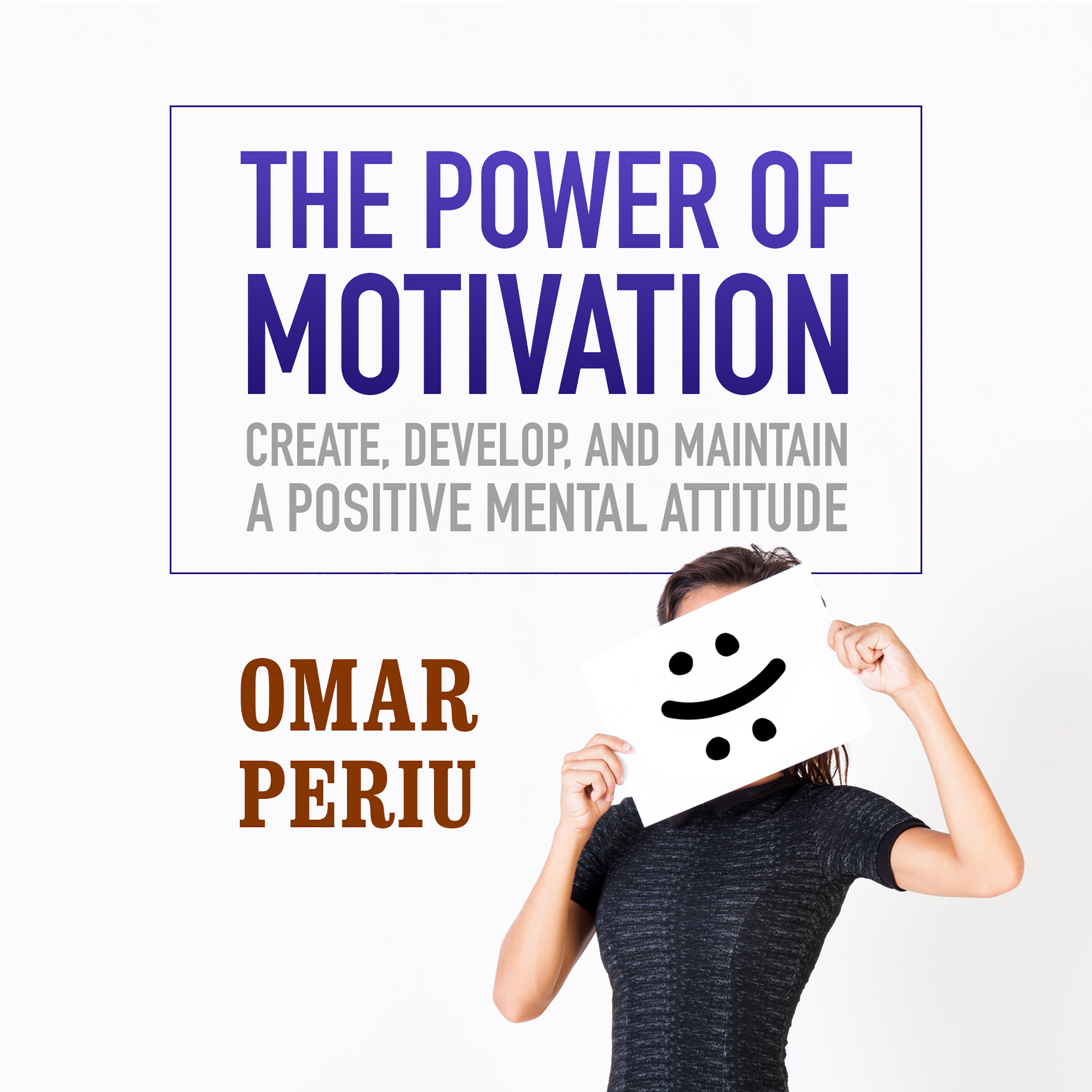 Printable The Power of Motivation: Create, Develop, and Maintain a Positive Mental Attitude Audiobook Cover Art