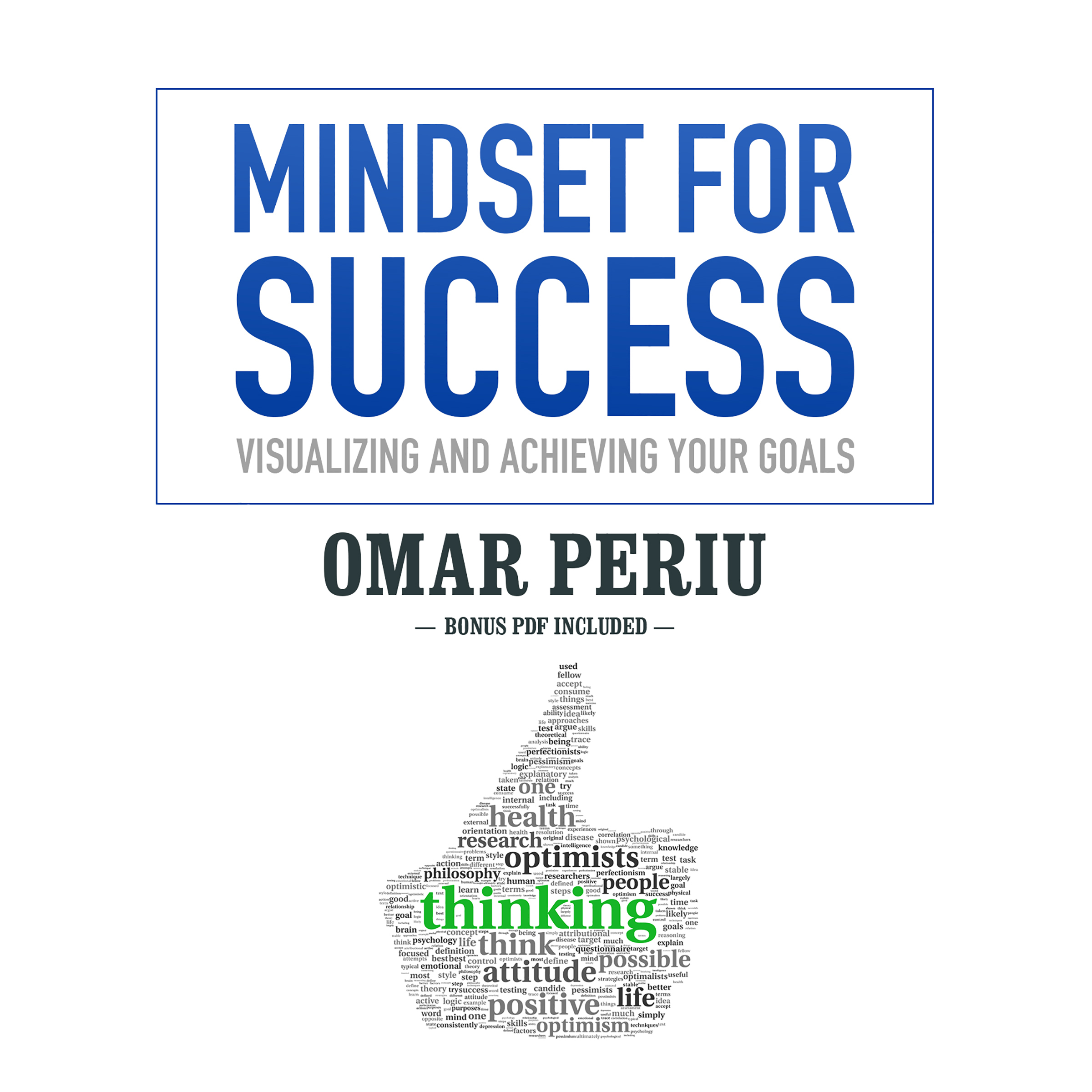 Printable Mindset for Success: Visualizing and Achieving Your Goals Audiobook Cover Art