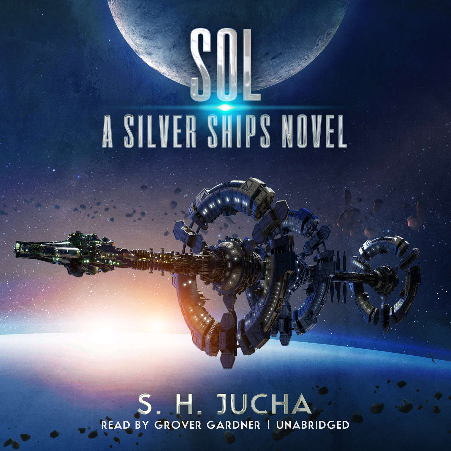 Printable Sol: A Silver Ships Novel Audiobook Cover Art