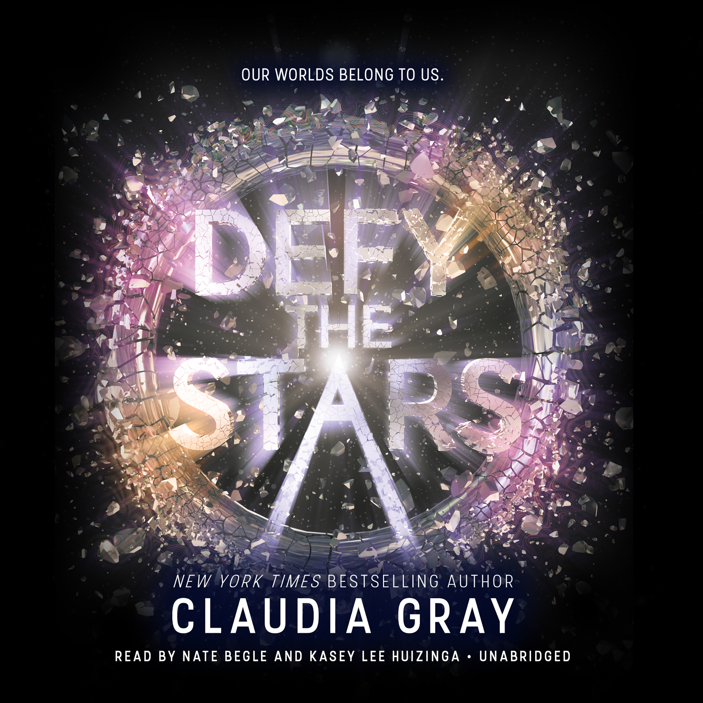 Printable Defy the Stars Audiobook Cover Art