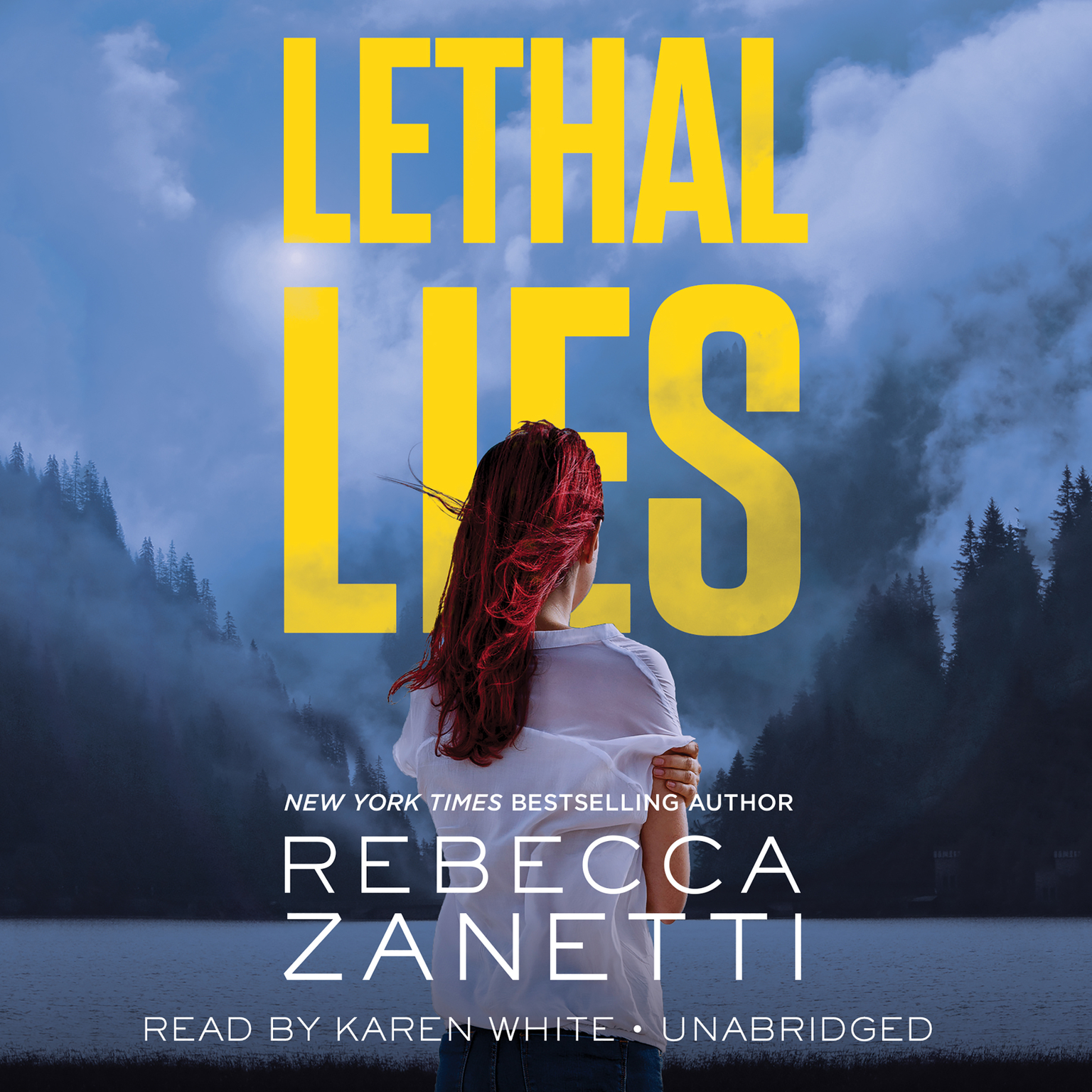 Printable Lethal Lies Audiobook Cover Art