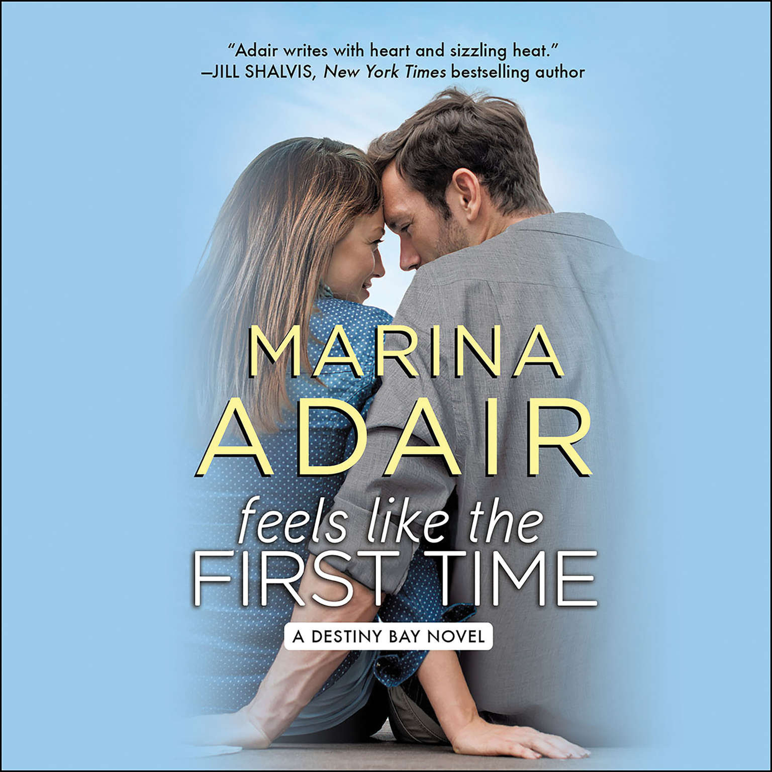 Printable Feels like the First Time Audiobook Cover Art
