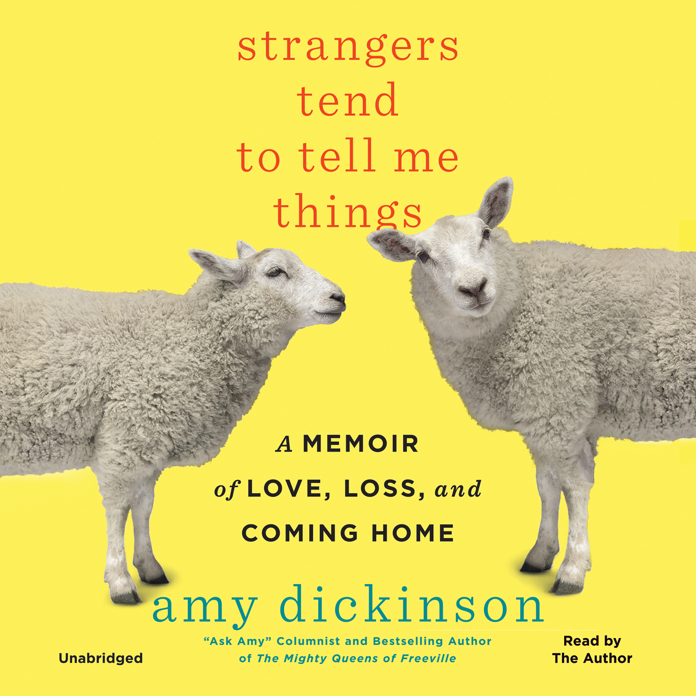 Printable Strangers Tend to Tell Me Things: A Memoir of Love, Loss, and Coming Home Audiobook Cover Art