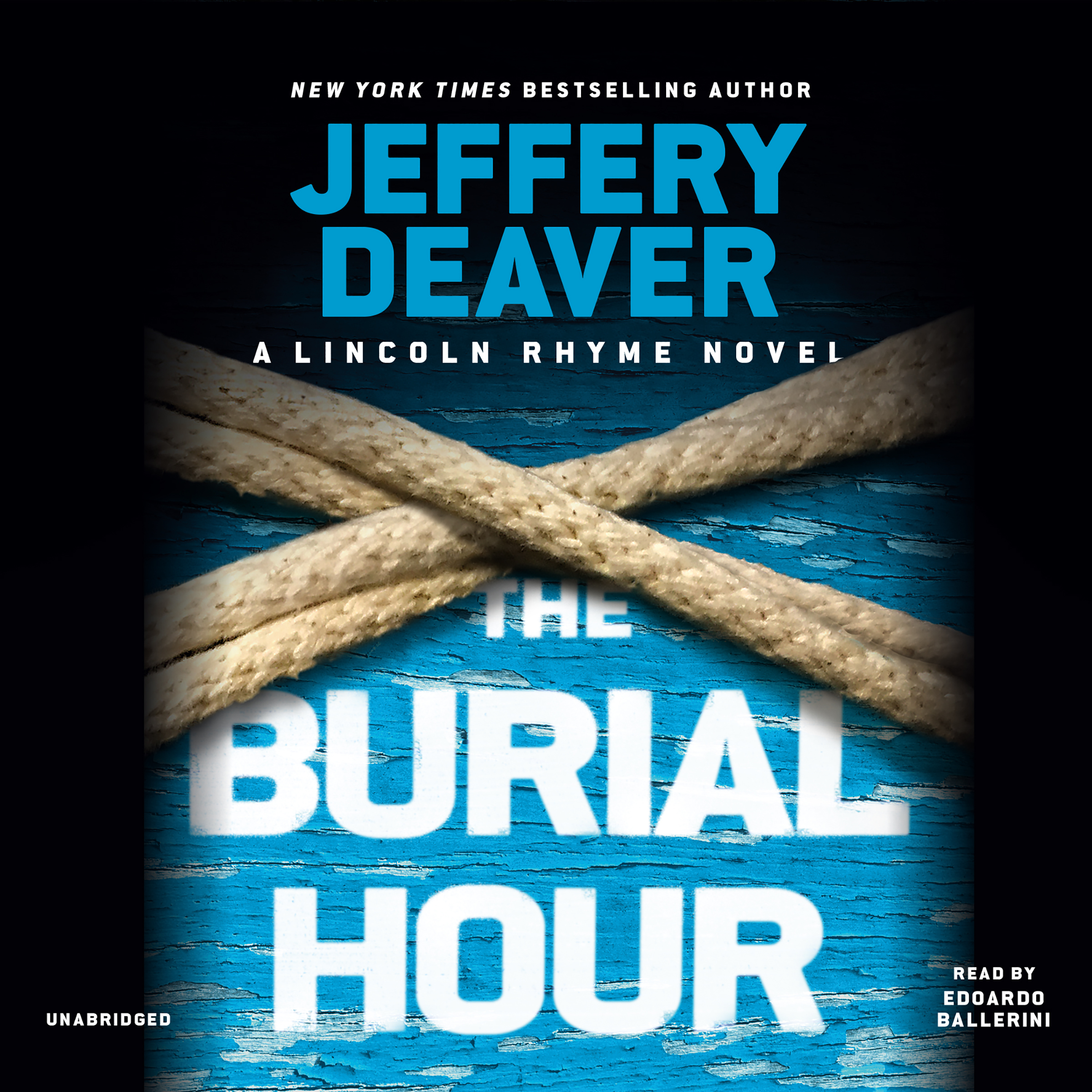 Printable The Burial Hour Audiobook Cover Art