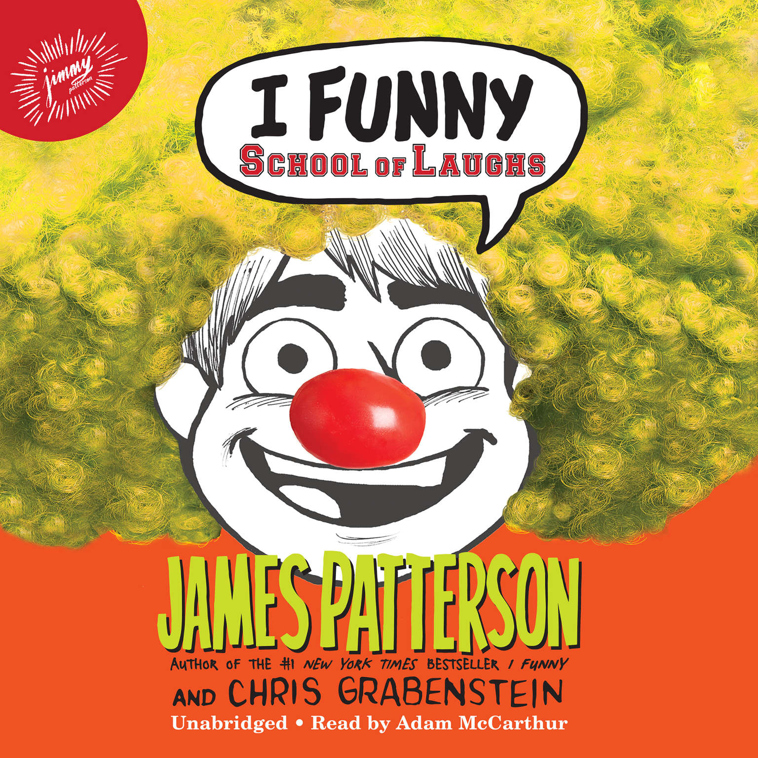 Printable I Funny: School of Laughs Audiobook Cover Art
