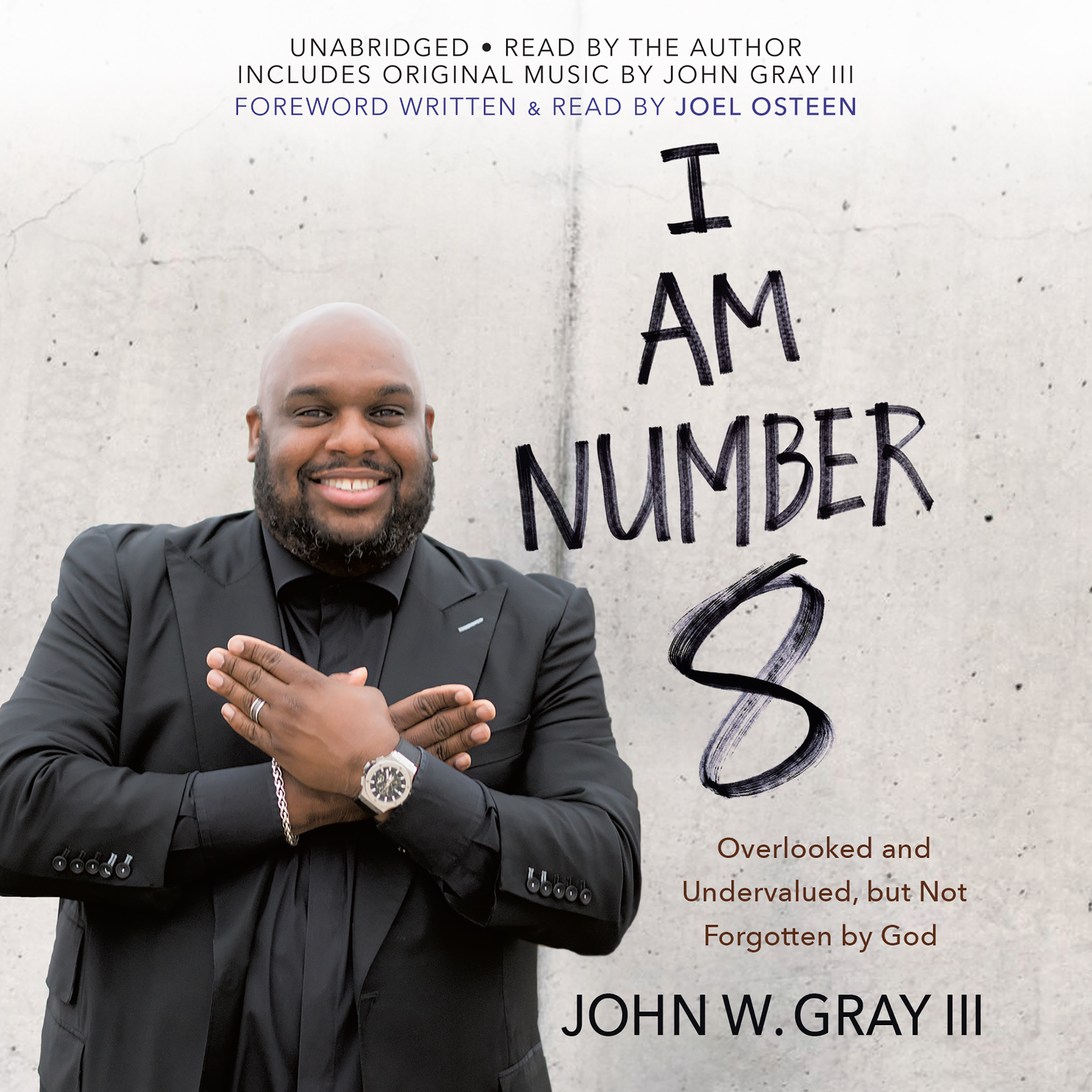 Printable I Am Number 8: Overlooked and Undervalued, but Not Forgotten by God Audiobook Cover Art