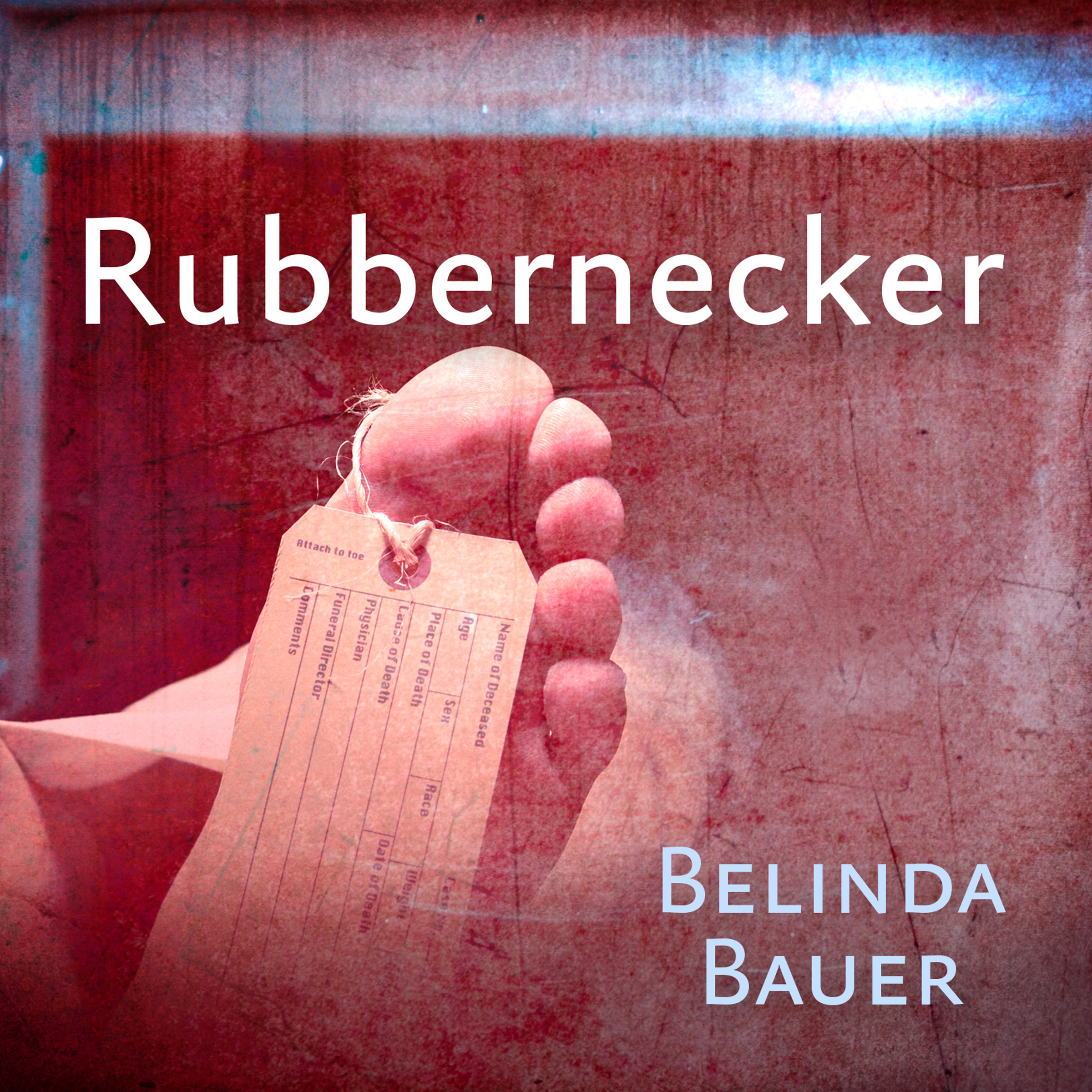 Printable Rubbernecker Audiobook Cover Art