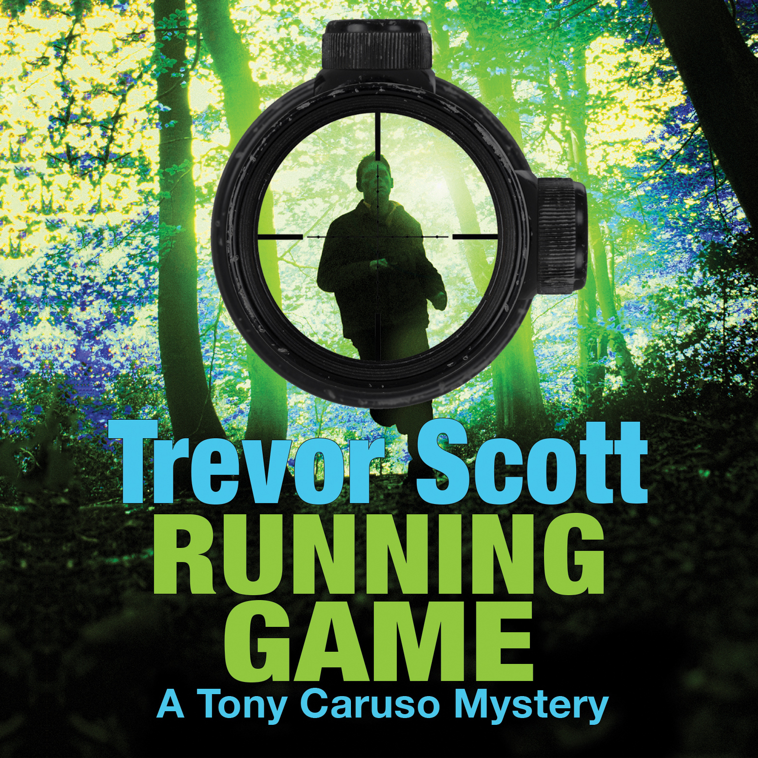 Printable Running Game Audiobook Cover Art