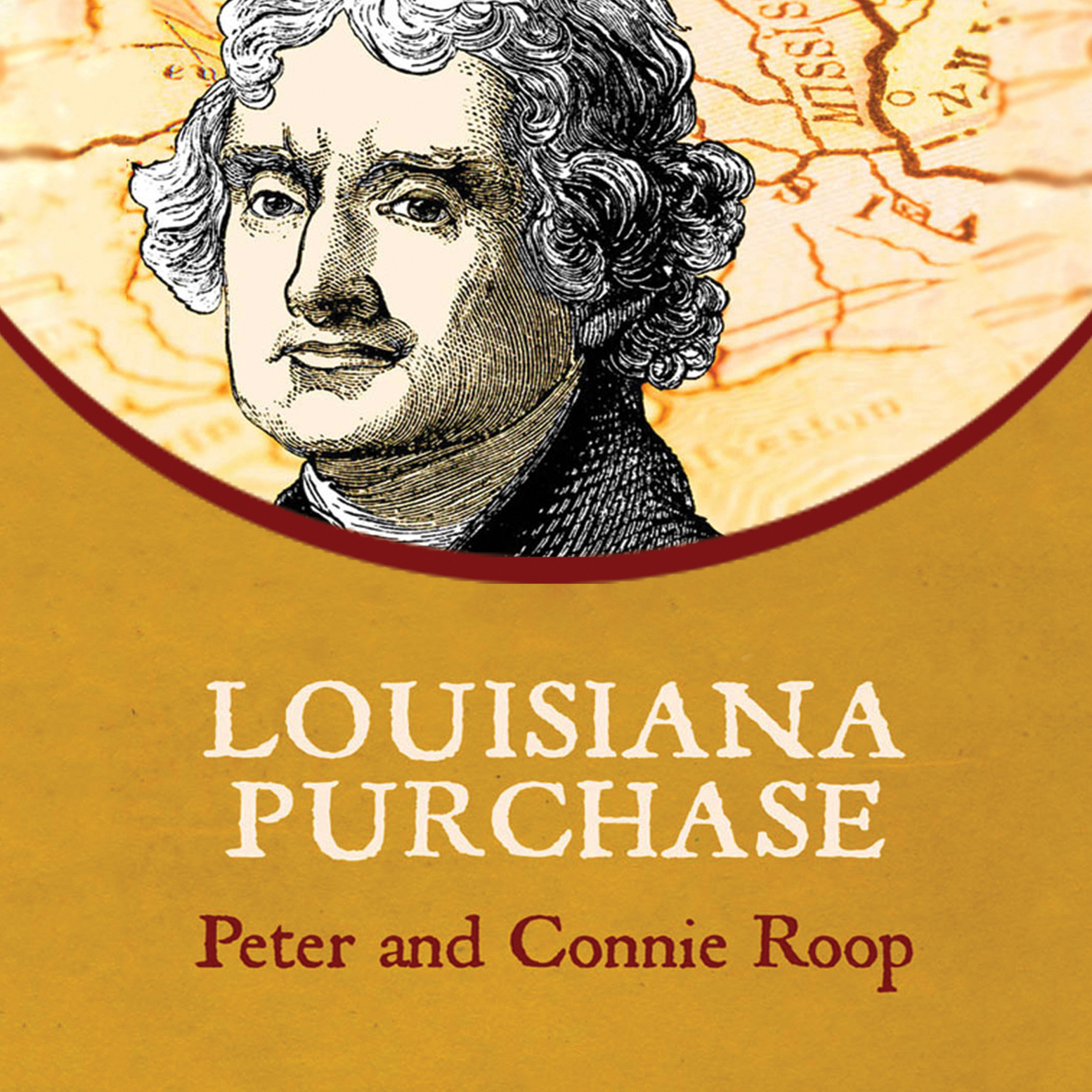 Printable Louisiana Purchase Audiobook Cover Art