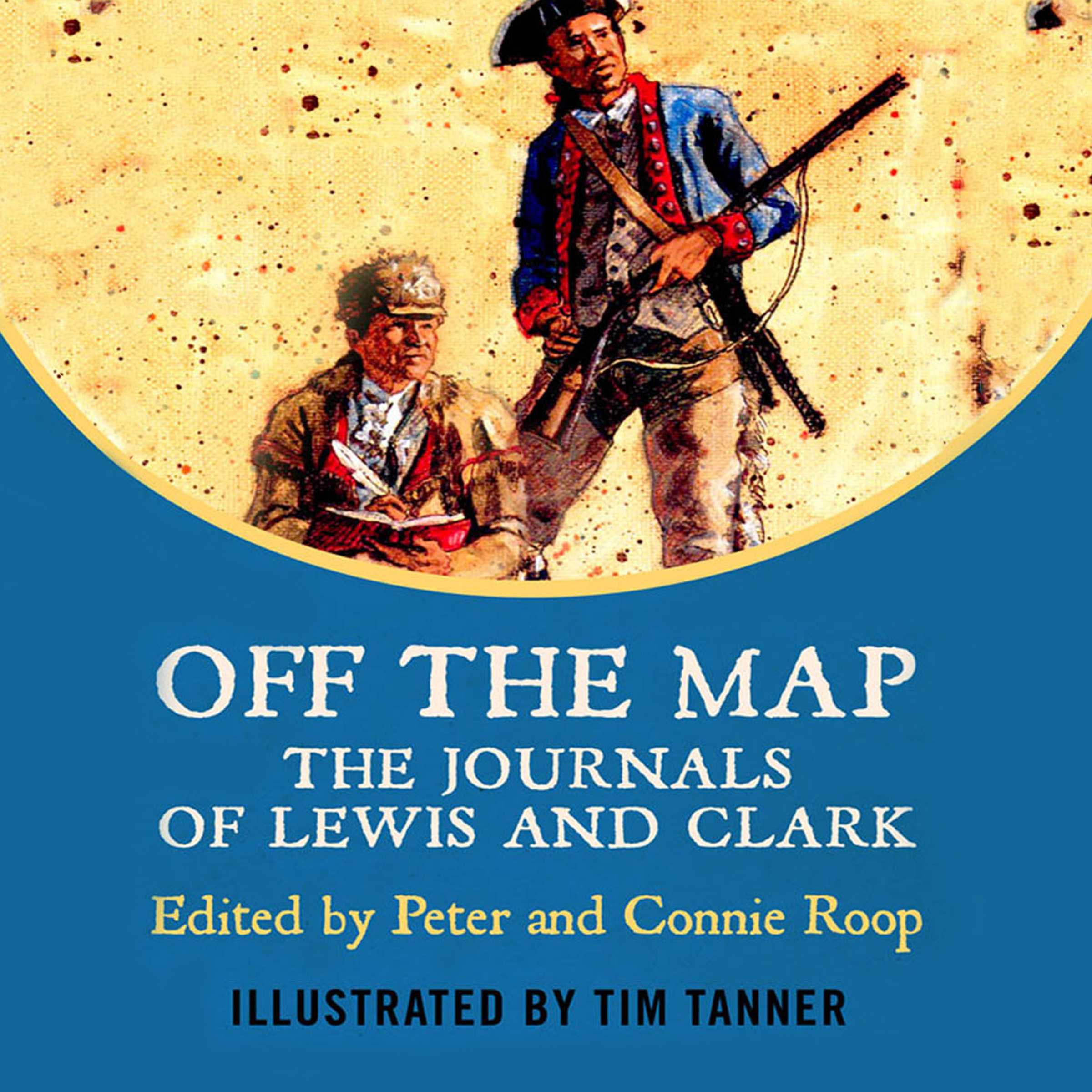 Printable Off The Map: The Journals of Lewis and Clark Audiobook Cover Art