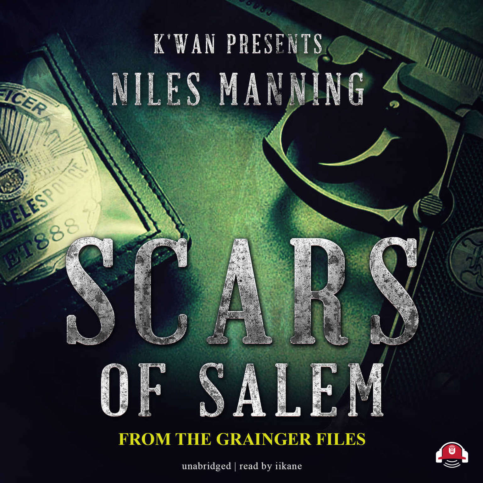 Printable Scars of Salem: The Grainger Files Audiobook Cover Art