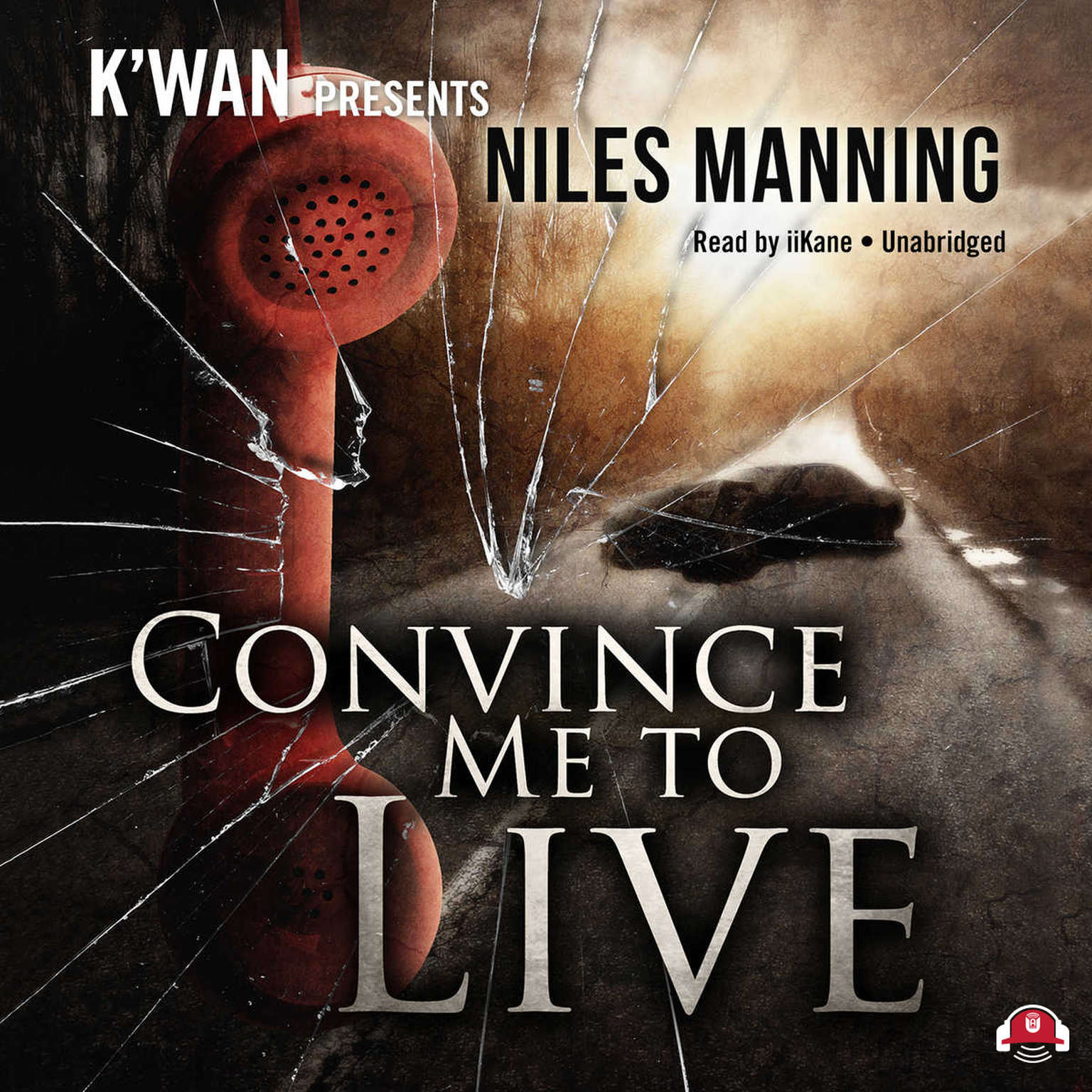Printable Convince Me to Live Audiobook Cover Art