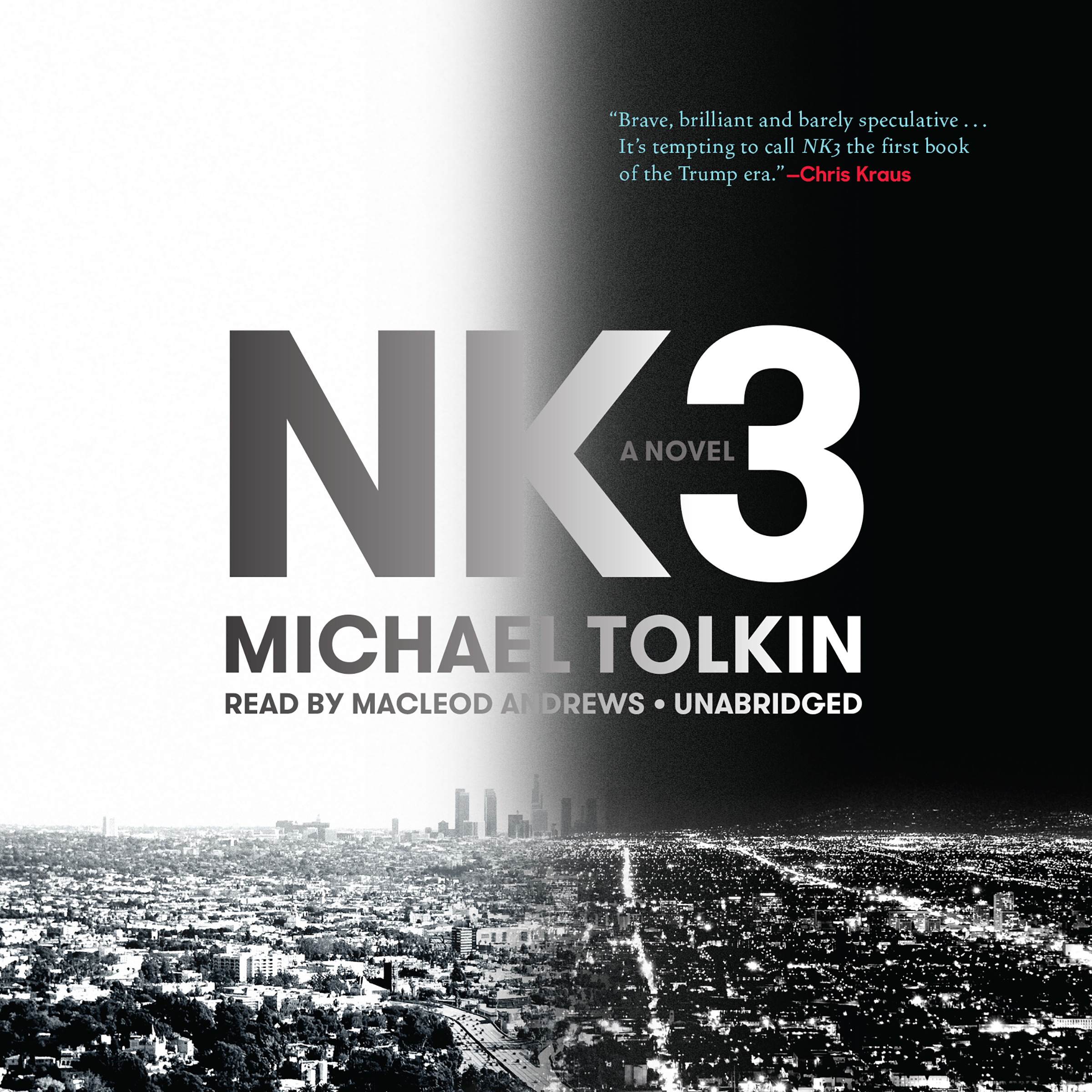 Printable NK3 Audiobook Cover Art