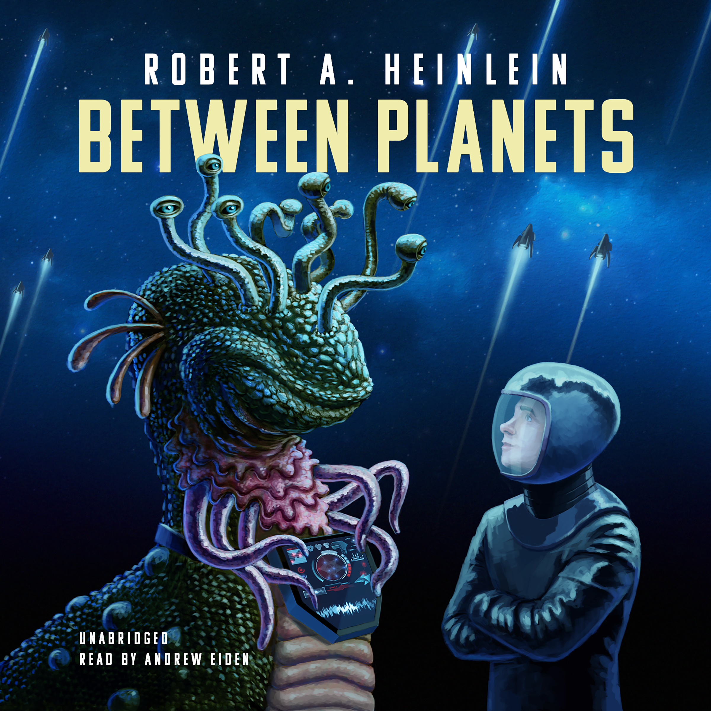 Printable Between Planets Audiobook Cover Art
