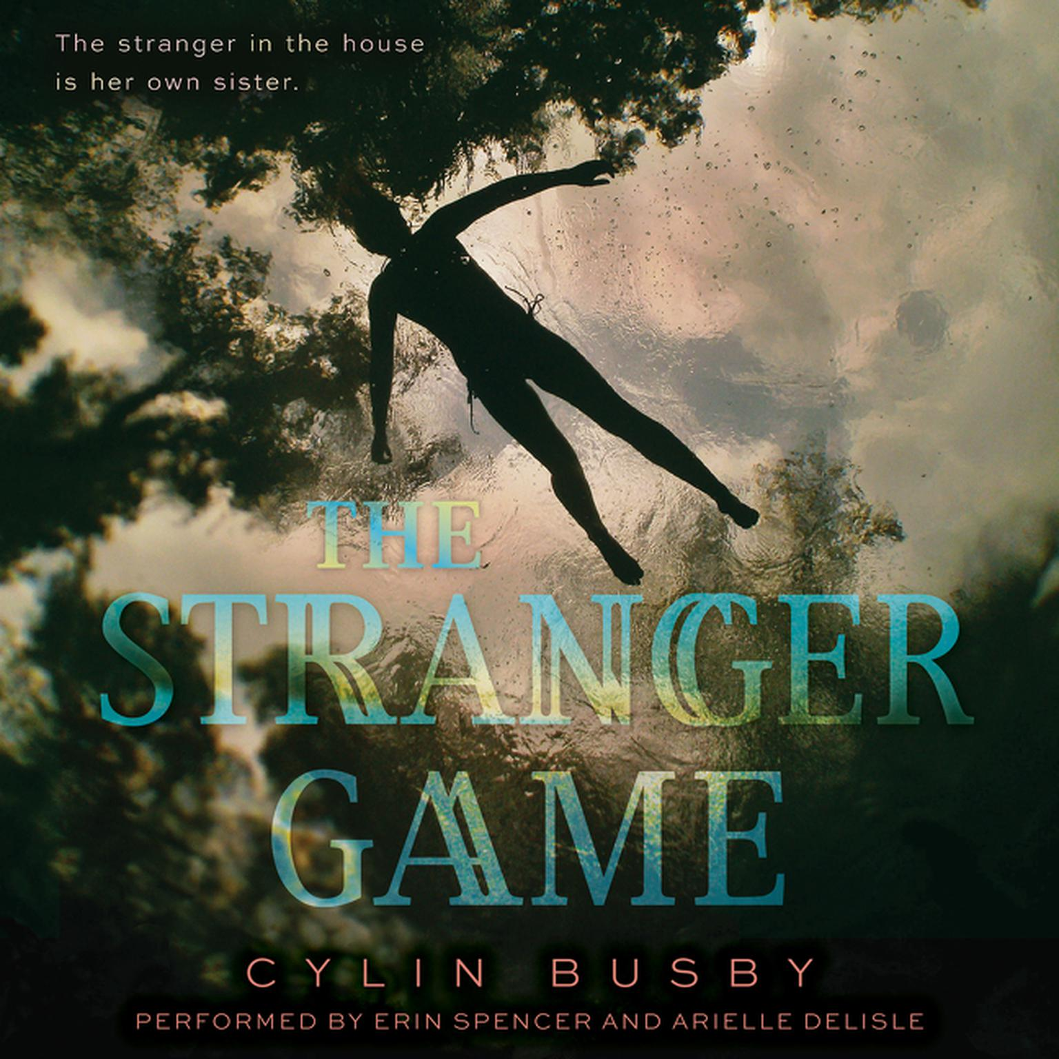 Printable The Stranger Game Audiobook Cover Art