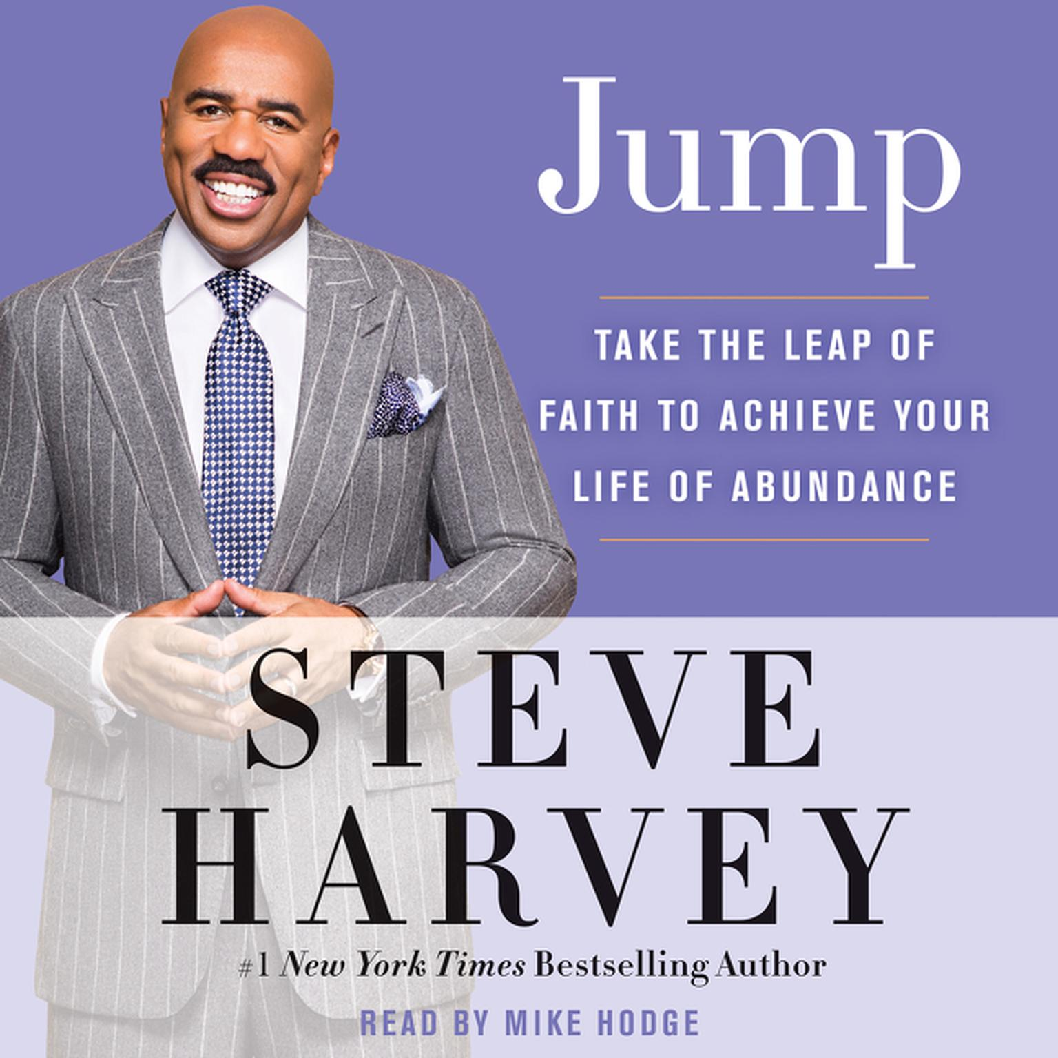 Printable Jump: Take the Leap of Faith to Achieve Your Life of Abundance Audiobook Cover Art