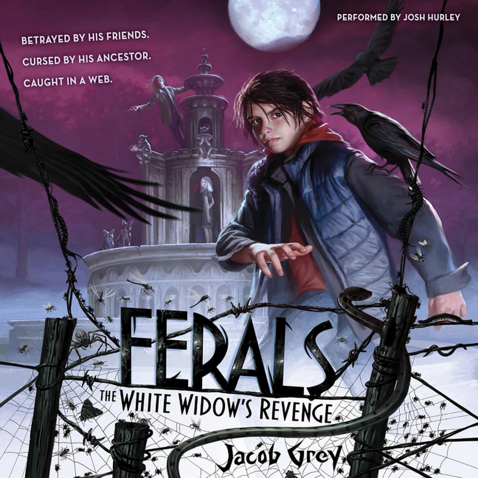 Printable Ferals #3: The White Widow's Revenge Audiobook Cover Art