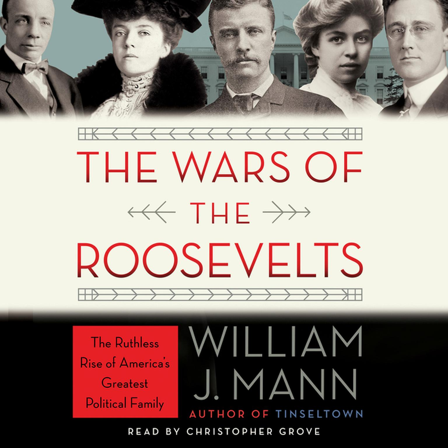 Printable The Wars of the Roosevelts: The Ruthless Rise of America's Greatest Political Family Audiobook Cover Art