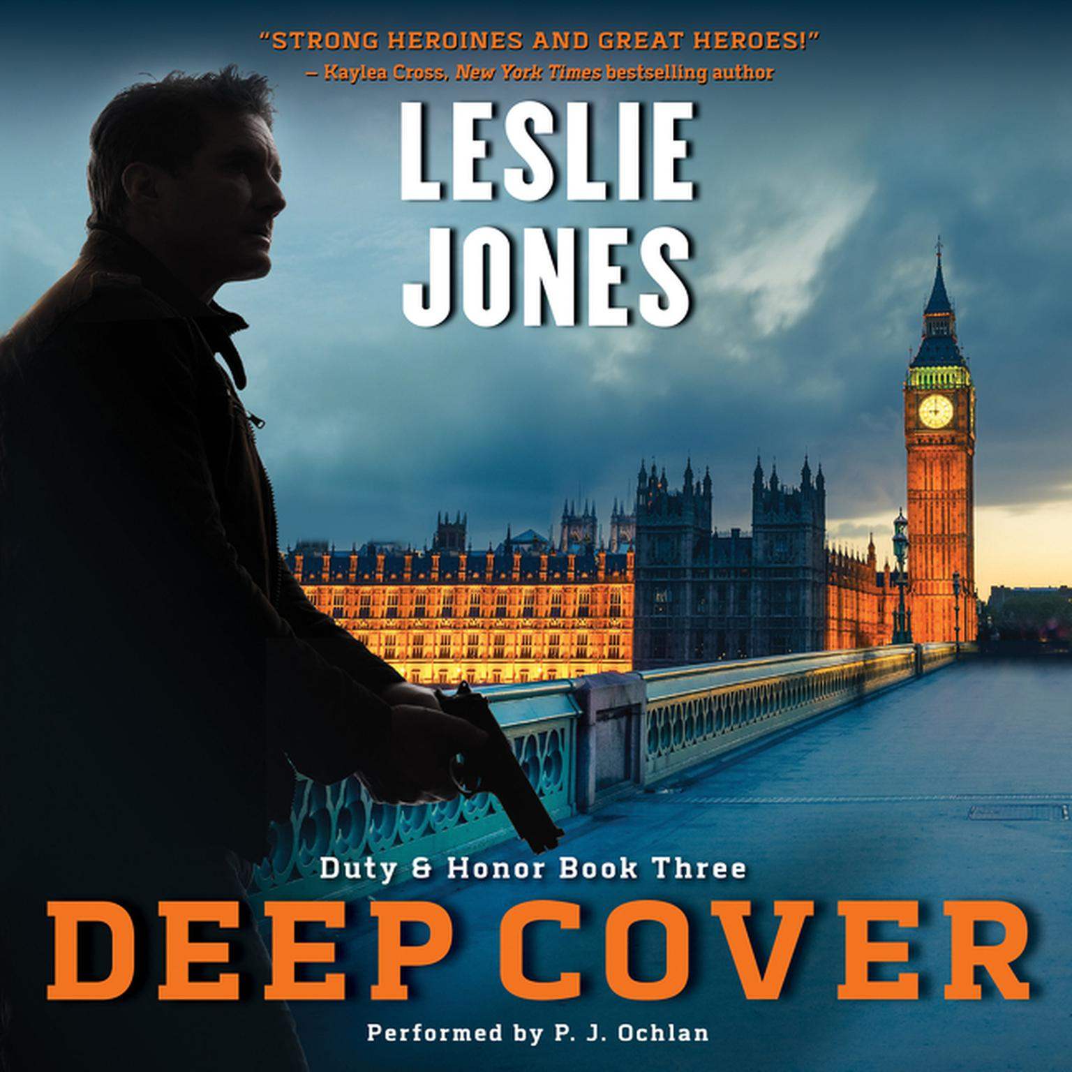 Printable Deep Cover: Duty & Honor Book Three Audiobook Cover Art