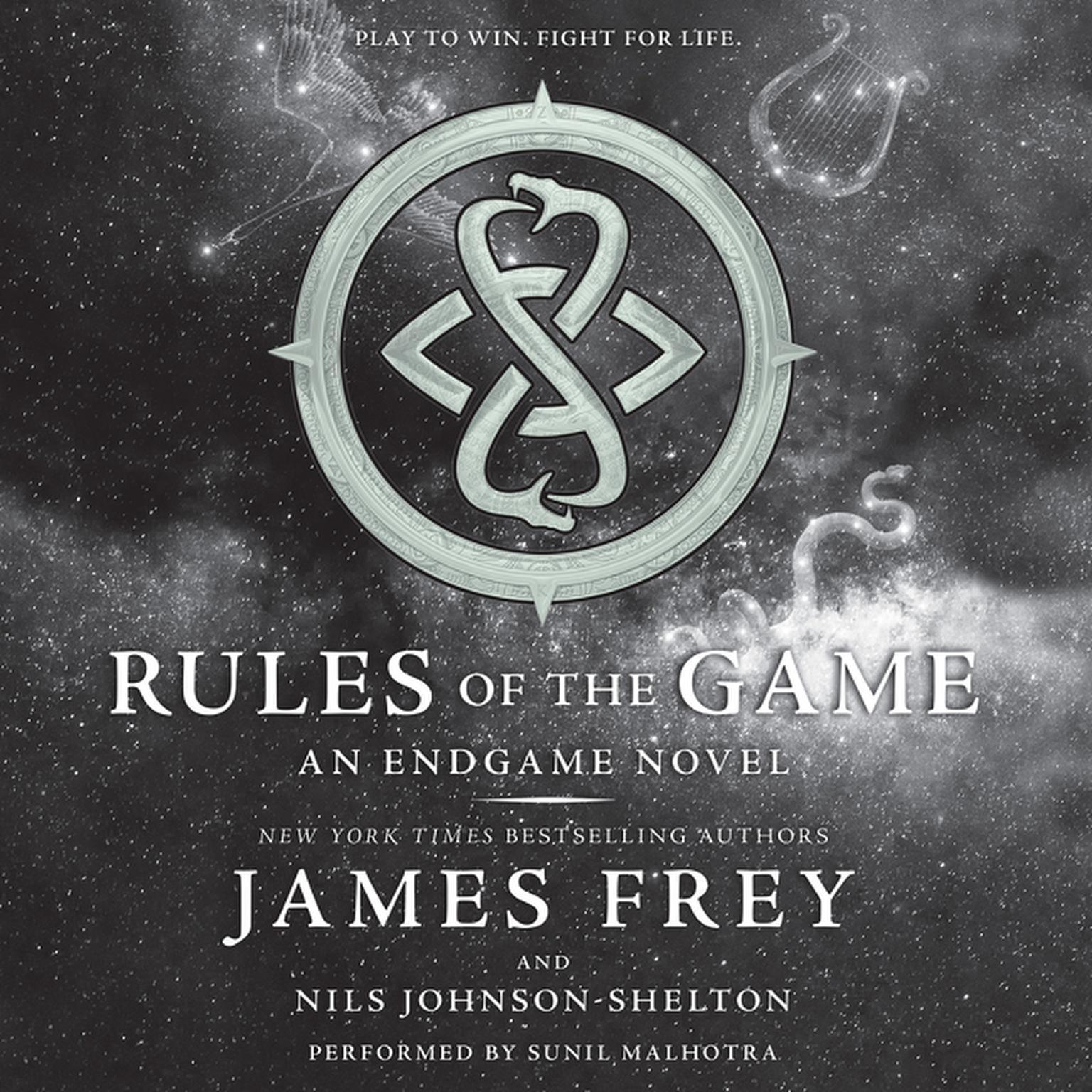 Printable Endgame: Rules of the Game: An Endgame Novel Audiobook Cover Art