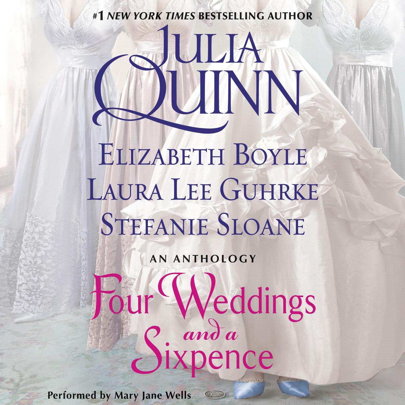 Printable Four Weddings and a Sixpence: An Anthology Audiobook Cover Art
