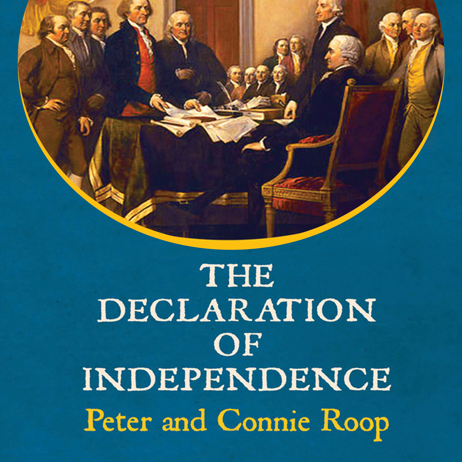 Printable The Declaration of Independence Audiobook Cover Art