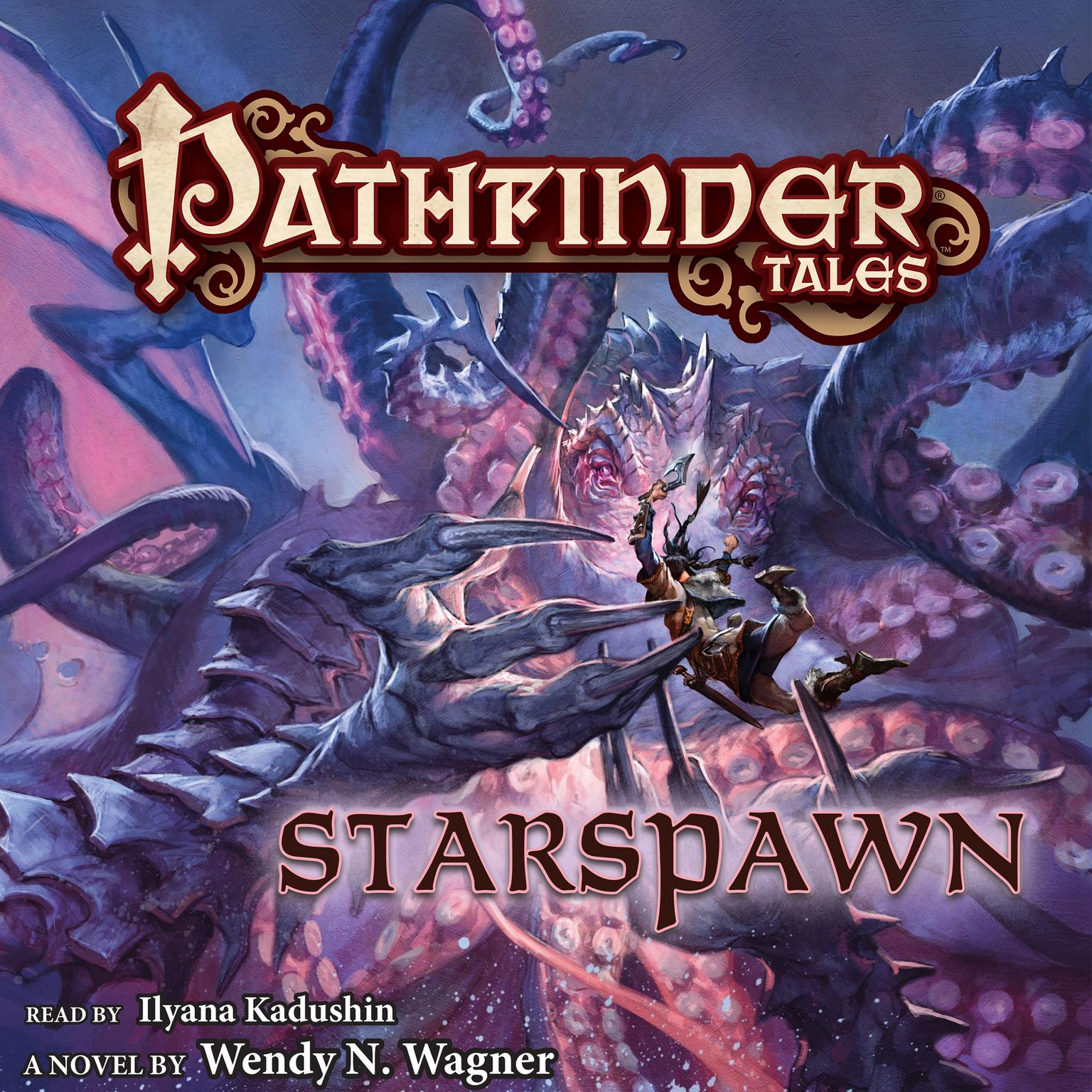 Printable Pathfinder Tales: Starspawn Audiobook Cover Art