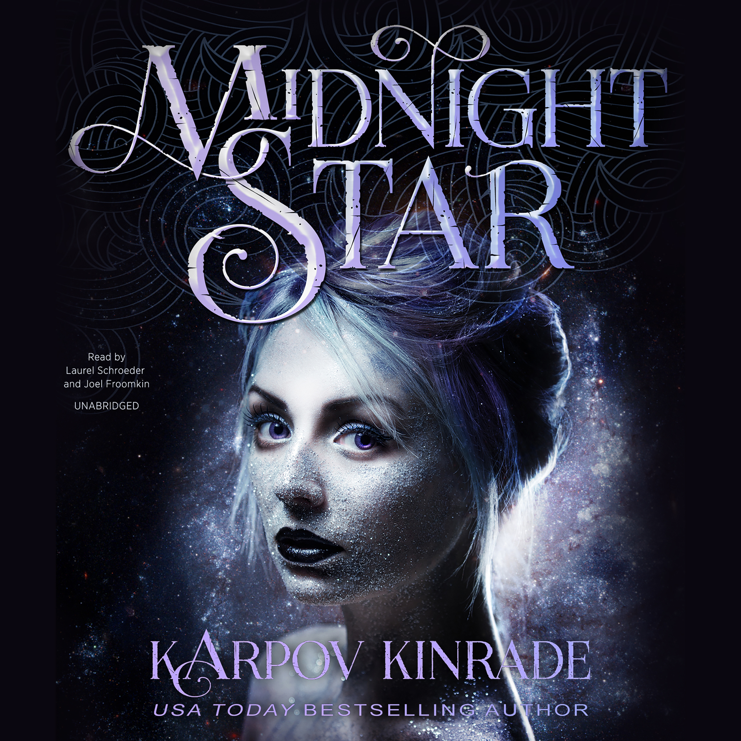 Printable Midnight Star Audiobook Cover Art