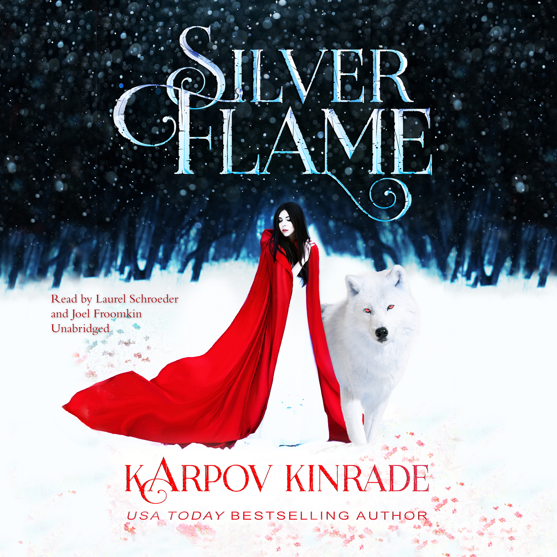 Printable Silver Flame Audiobook Cover Art