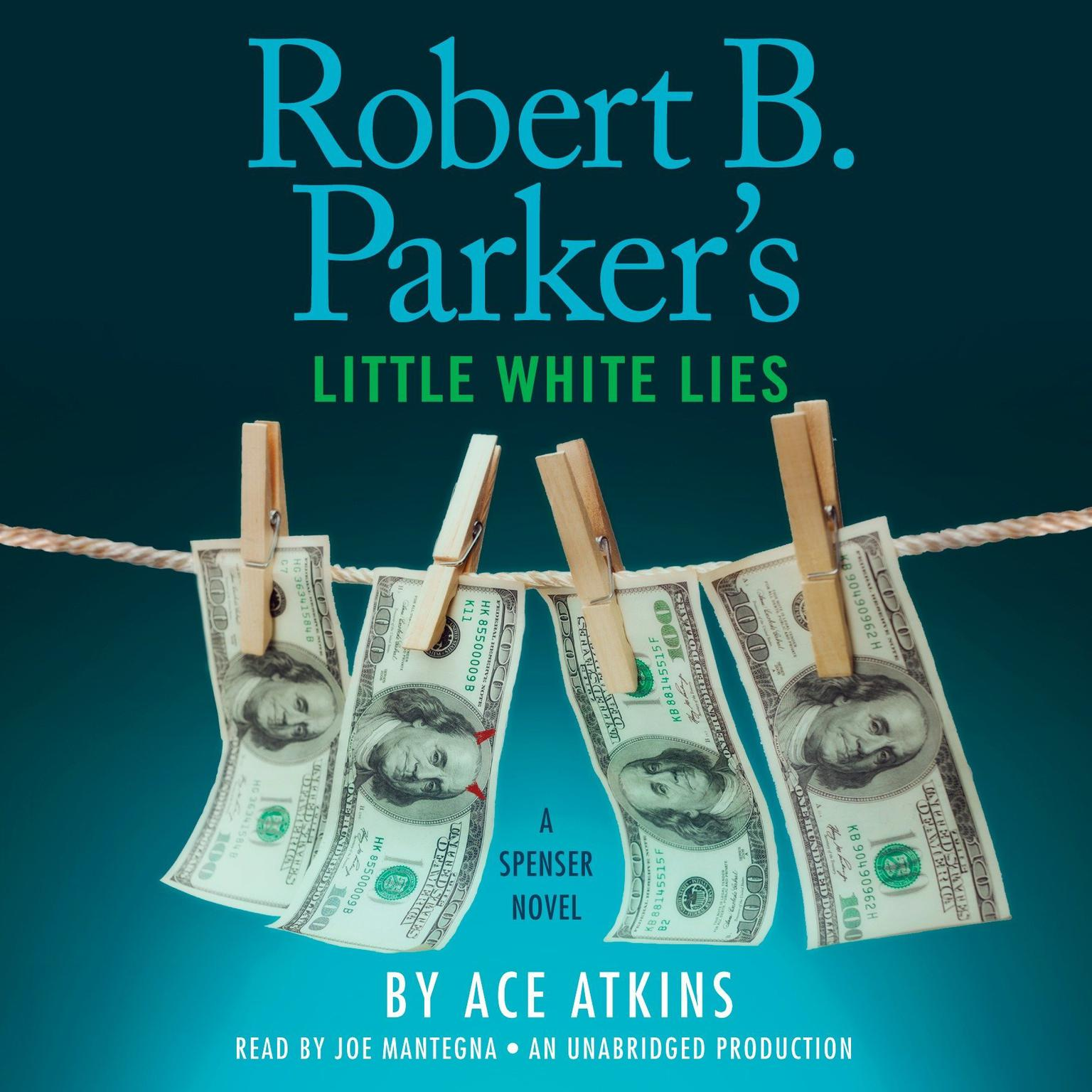 Printable Robert B. Parker's Little White Lies Audiobook Cover Art