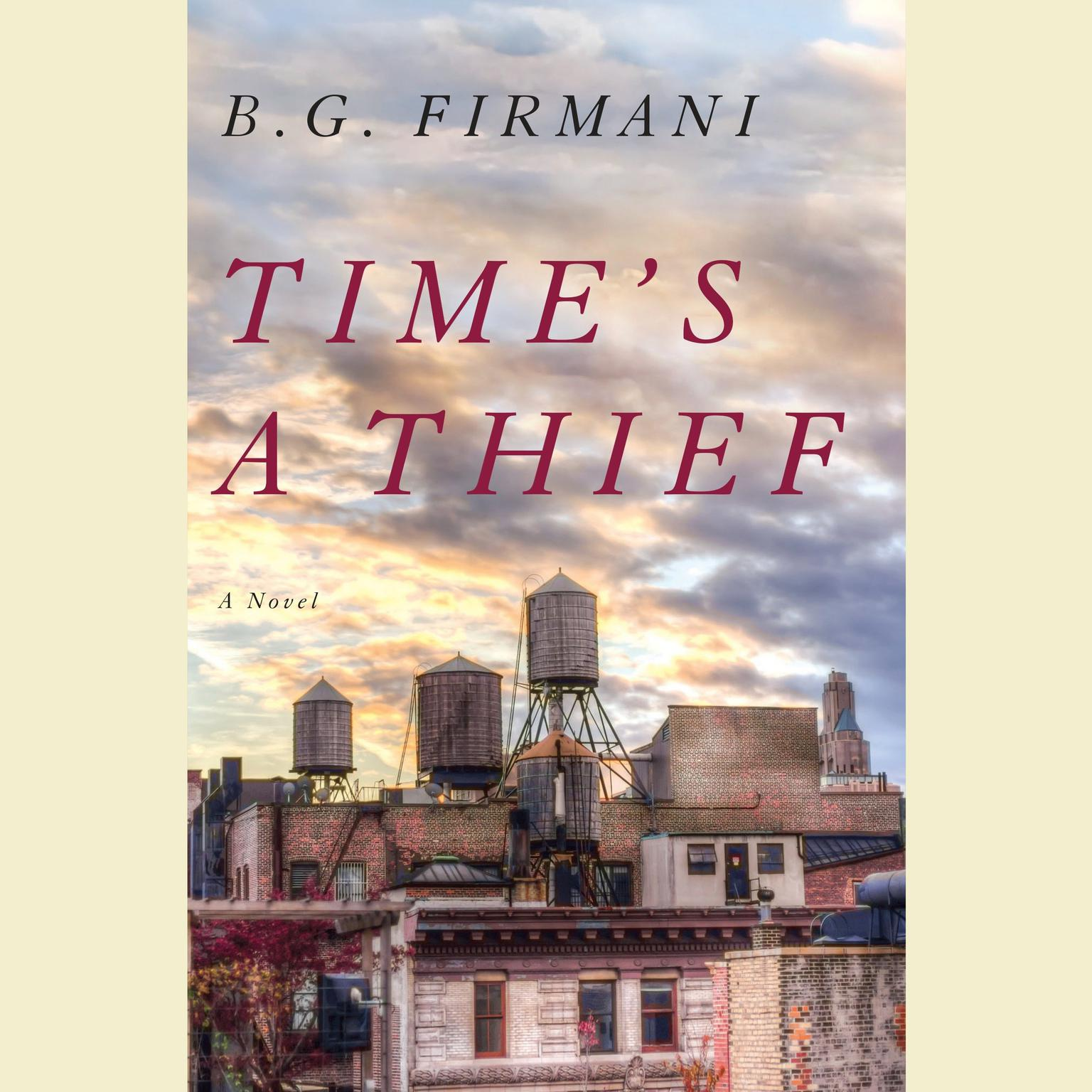 Printable Time's a Thief: A Novel Audiobook Cover Art