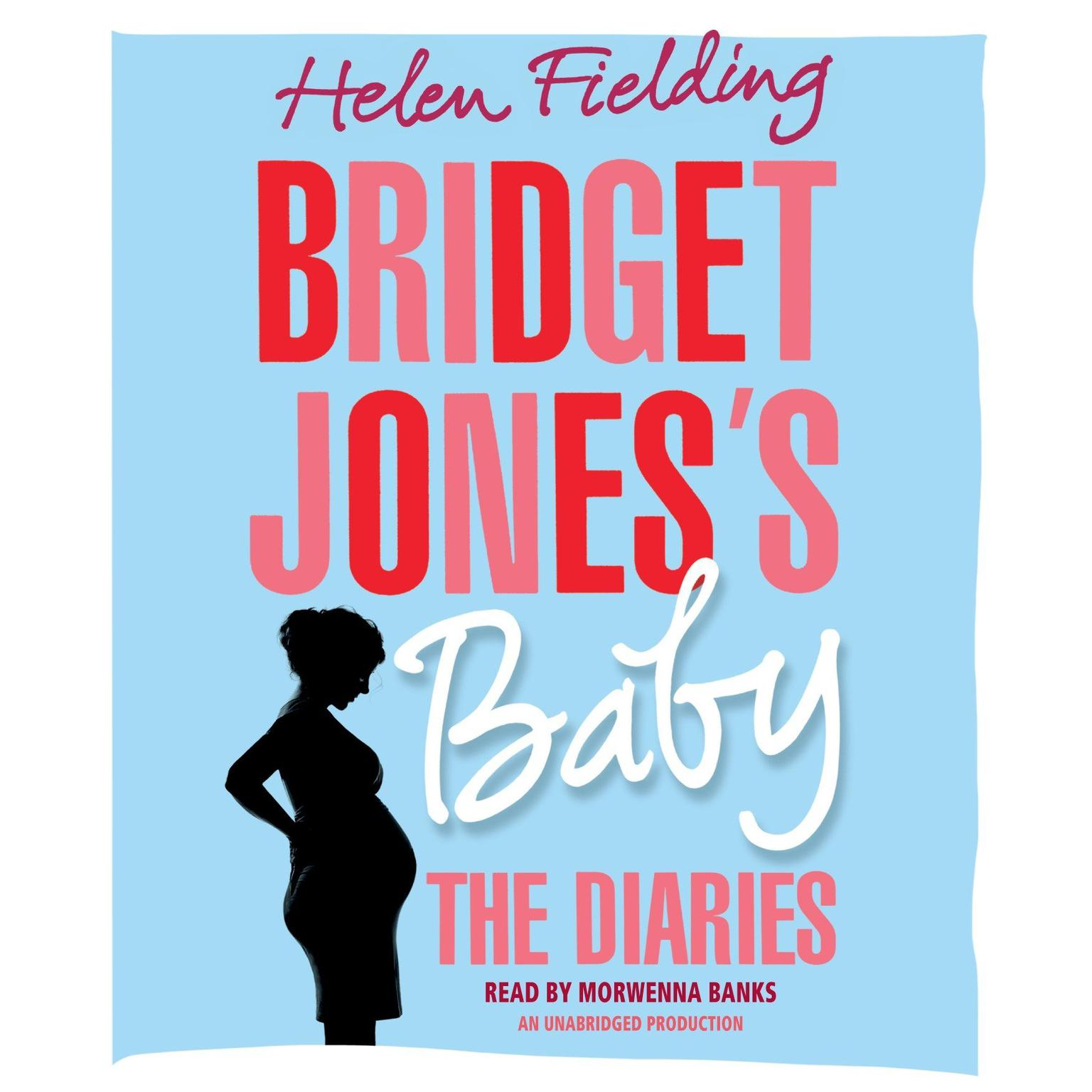 Printable Bridget Jones's Baby: The Diaries Audiobook Cover Art