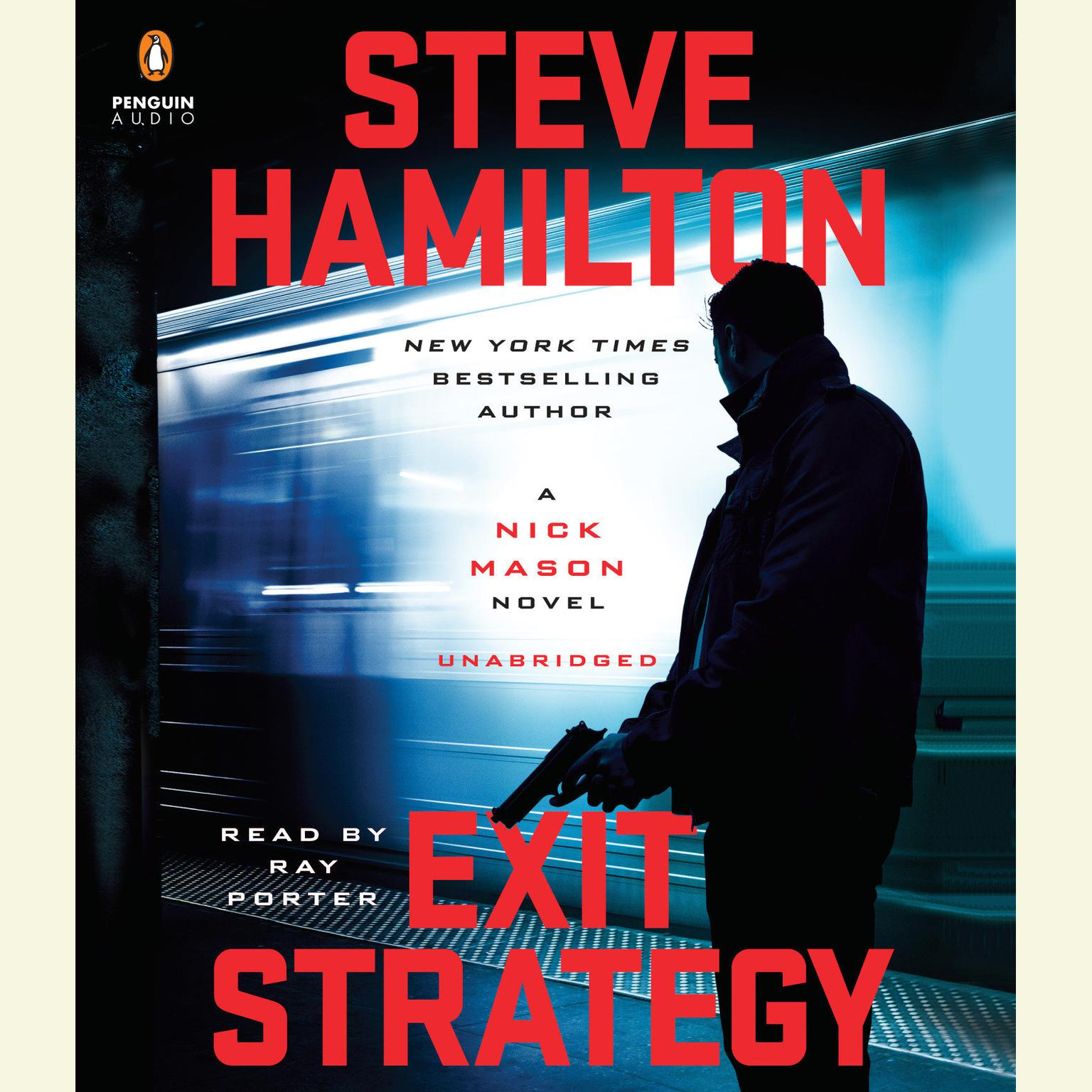 Printable Exit Strategy: A Nick Mason Novel Audiobook Cover Art