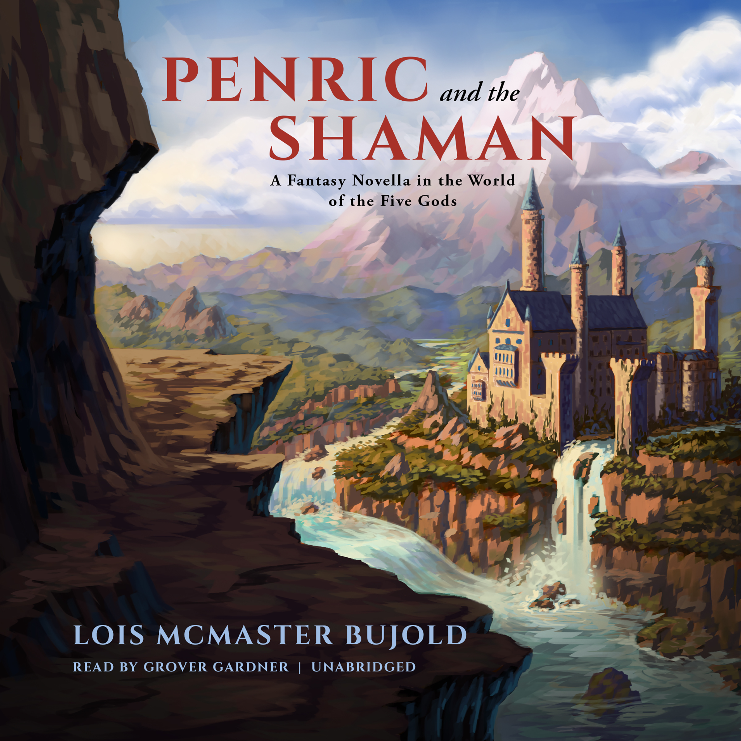 Printable Penric and the Shaman: A Fantasy Novella in the World of the Five Gods Audiobook Cover Art