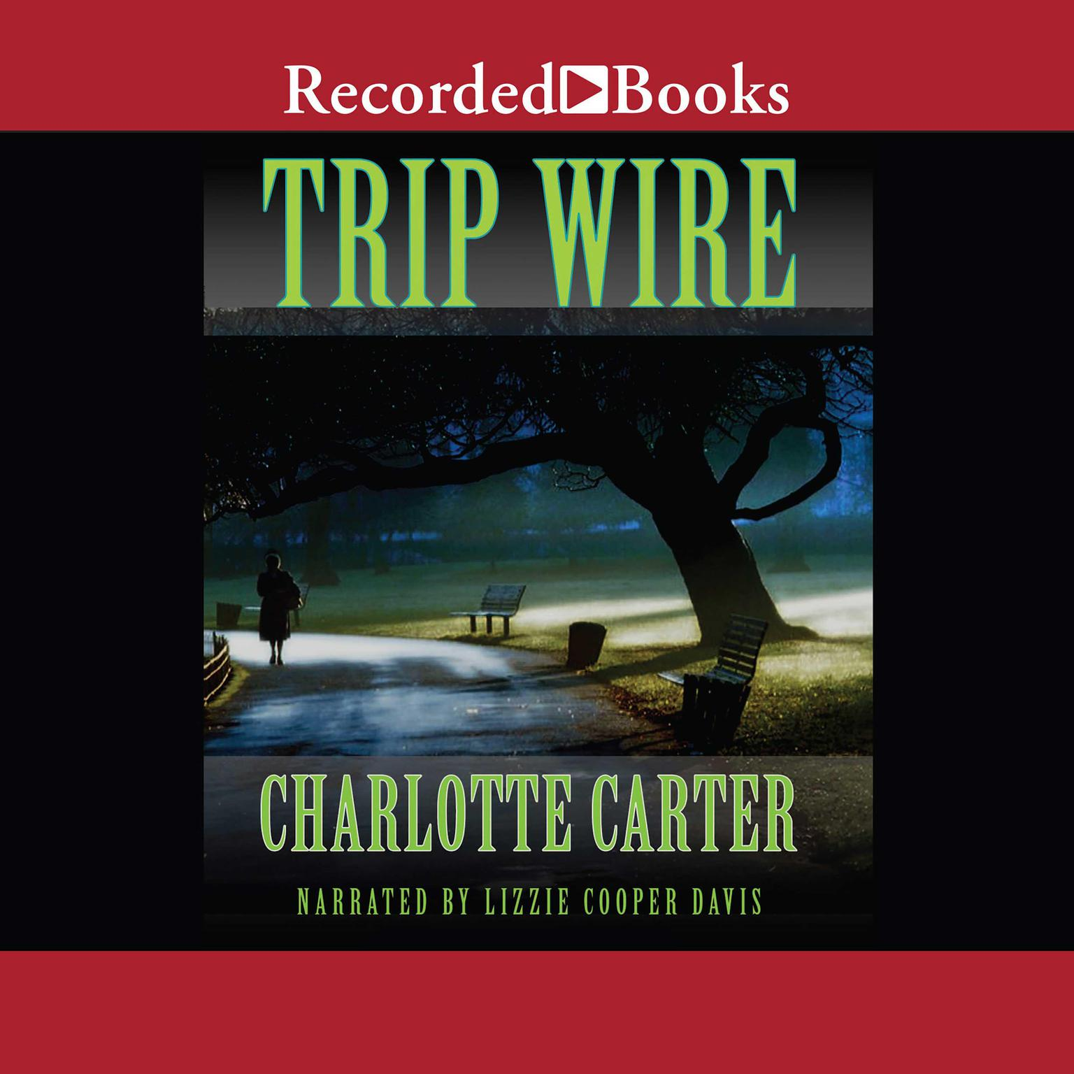 Printable Trip Wire Audiobook Cover Art